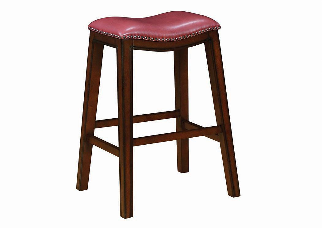 Jarons Crimson Bar Stool Set Of 2