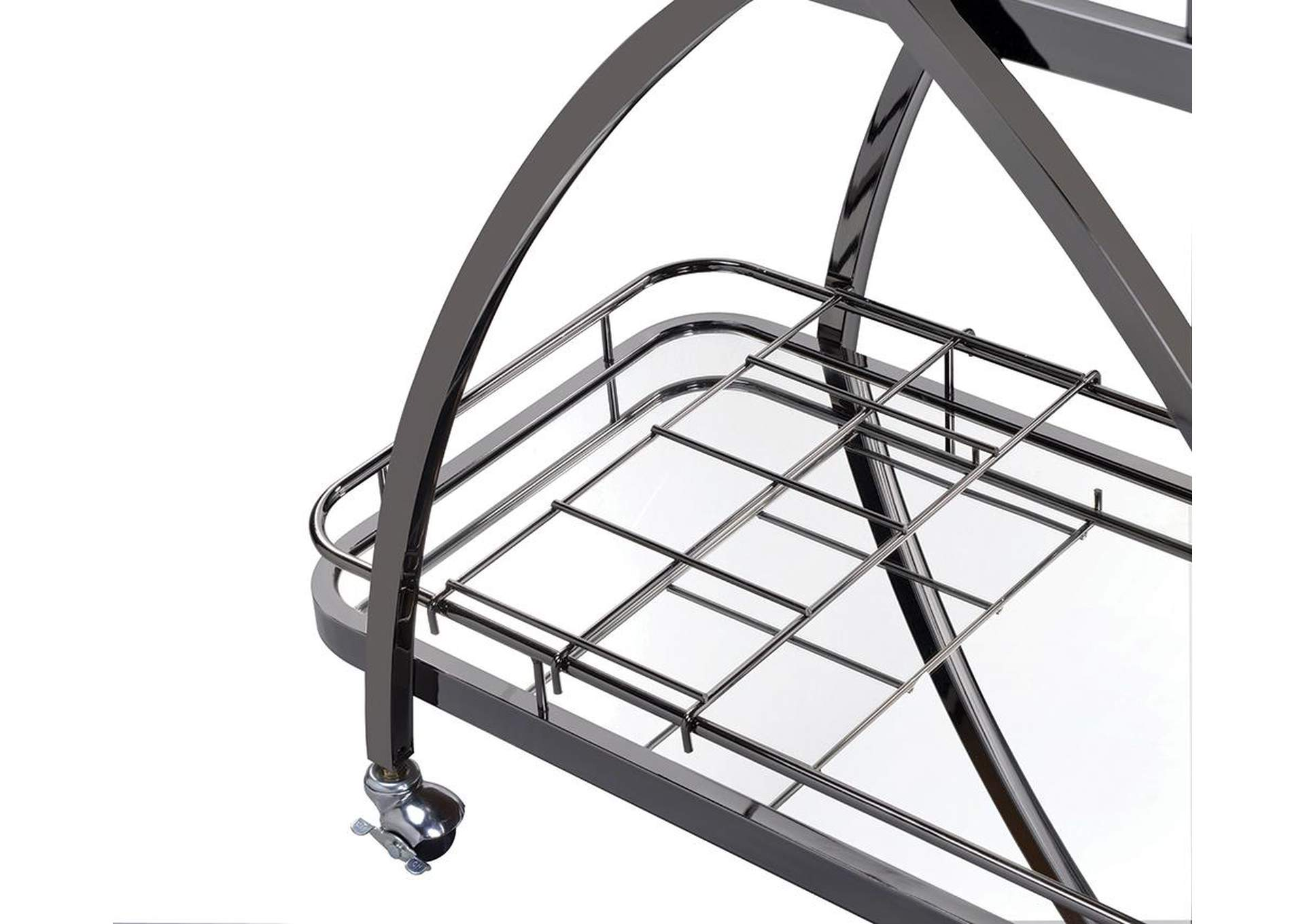 Mirror Serving Cart,Coaster Furniture