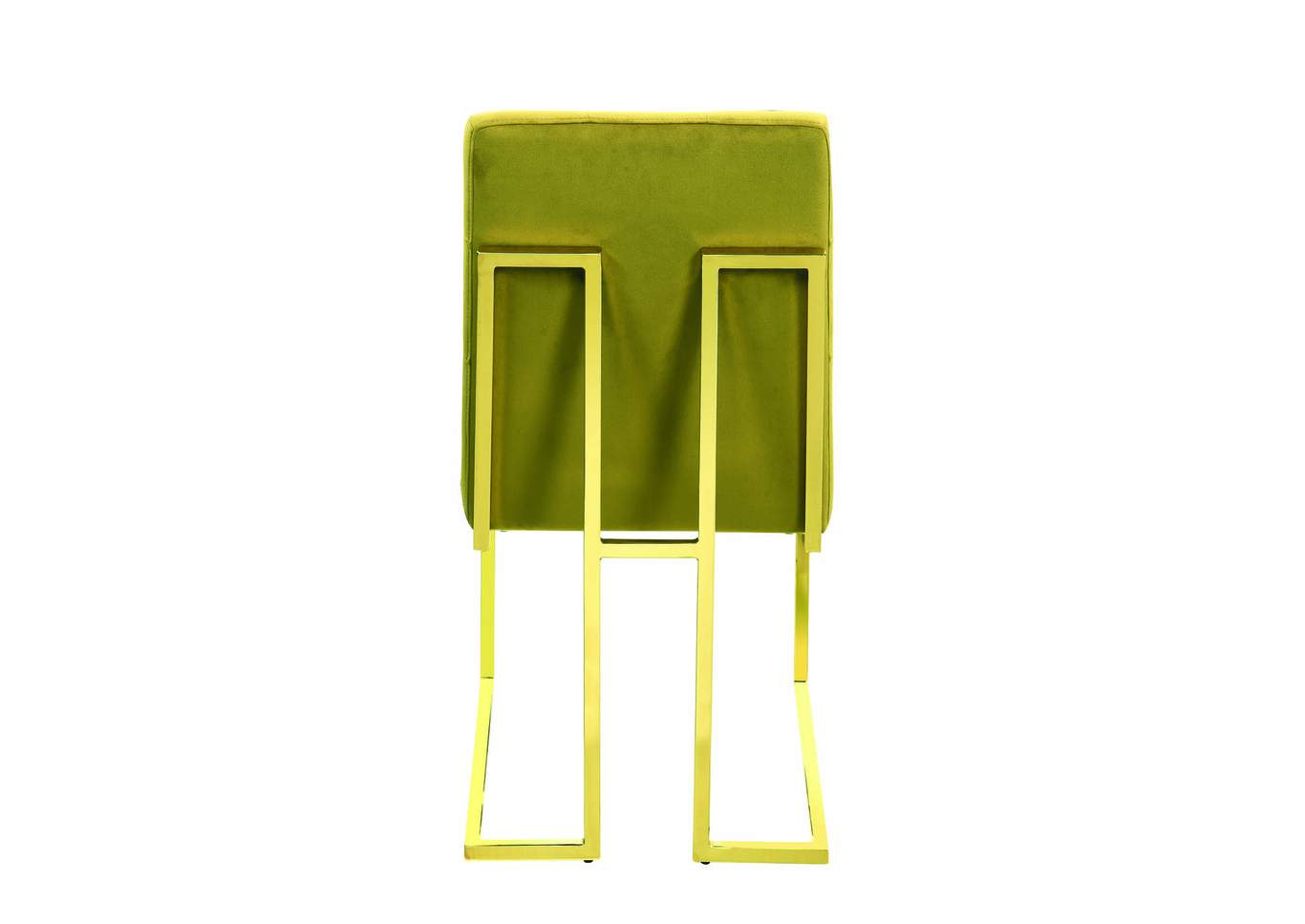 Mustard and Gold Dining Chair (Set of 2),Coaster Furniture