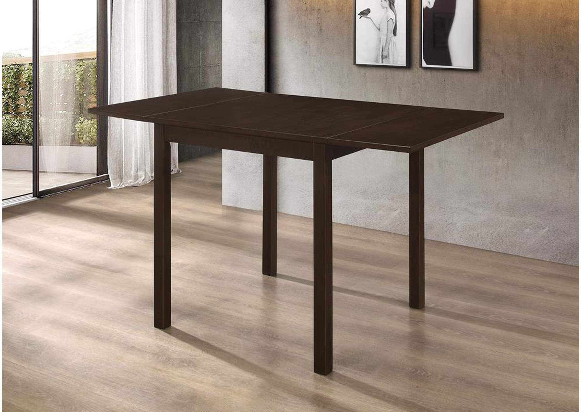 Kelso Cappuccino Dining Table,Coaster Furniture