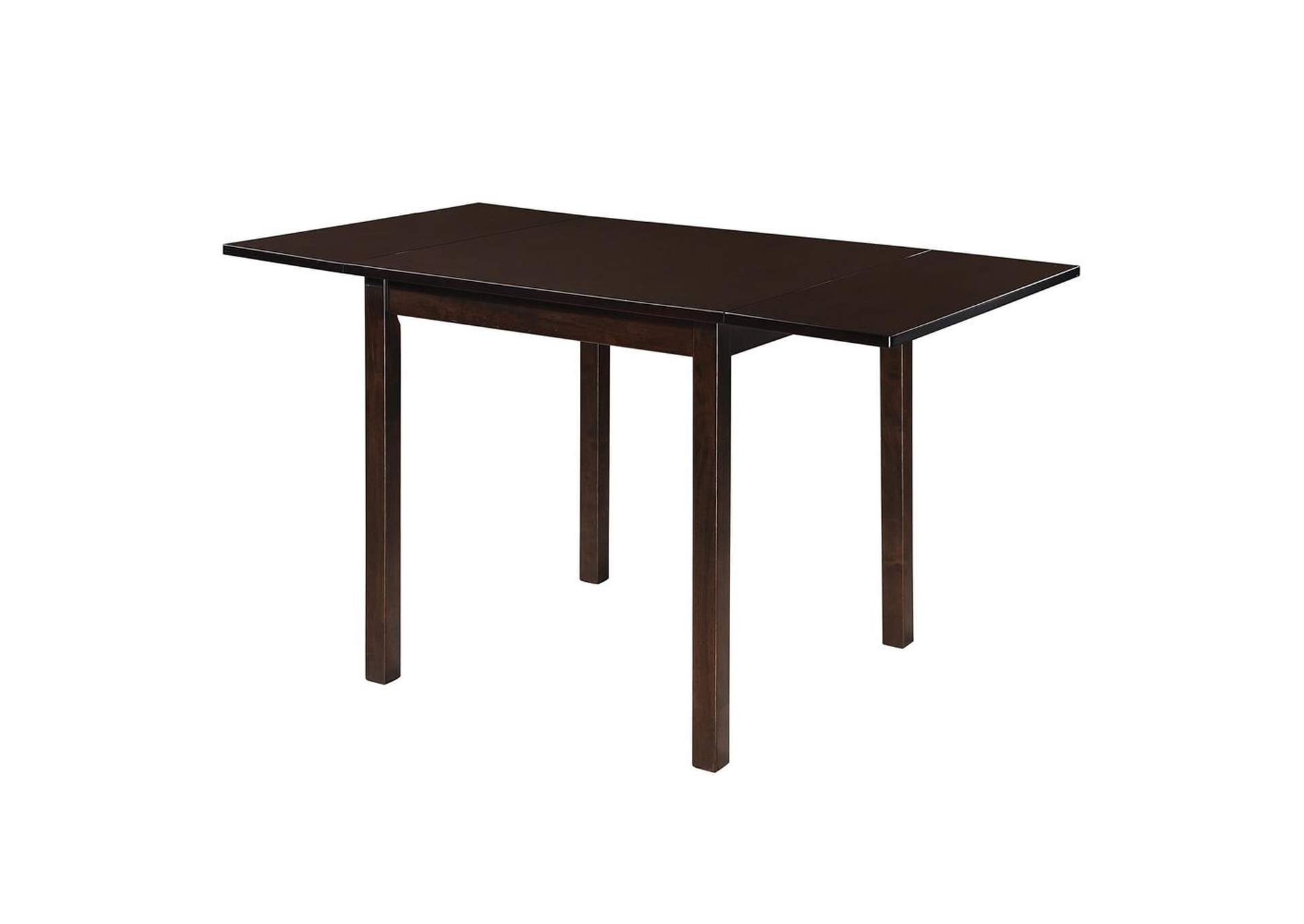 Treehouse Kelso Casual Cappuccino Dining Table,Coaster Furniture