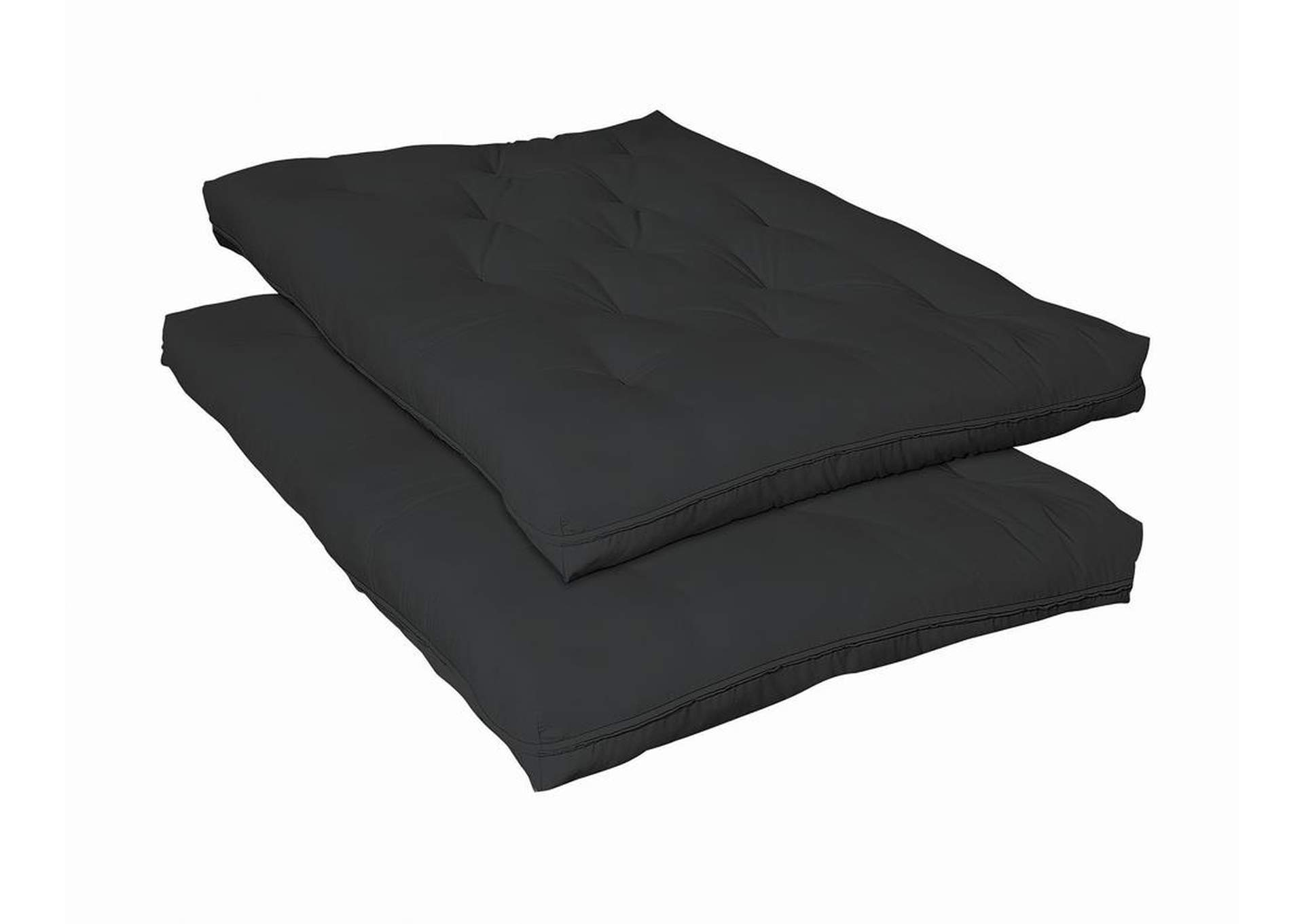 Black Futon Pad Innersprings,Coaster Furniture
