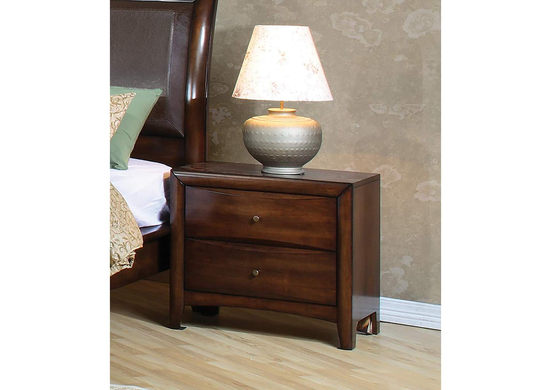 Hillary Walnut Night Stand,Coaster Furniture
