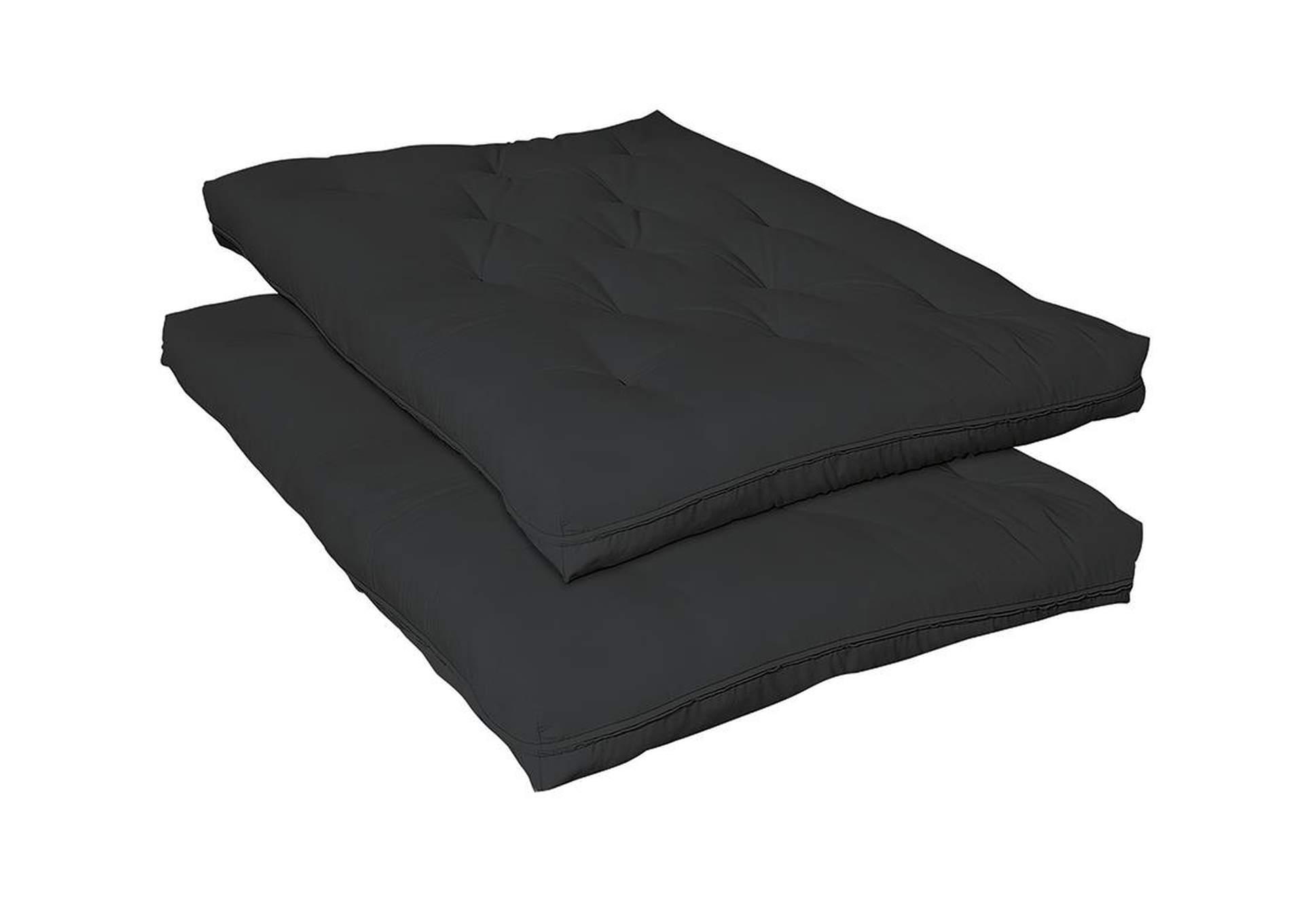 Overstock Furniture Tx Black Premium Extra Soft Twin Twin Futon Pad