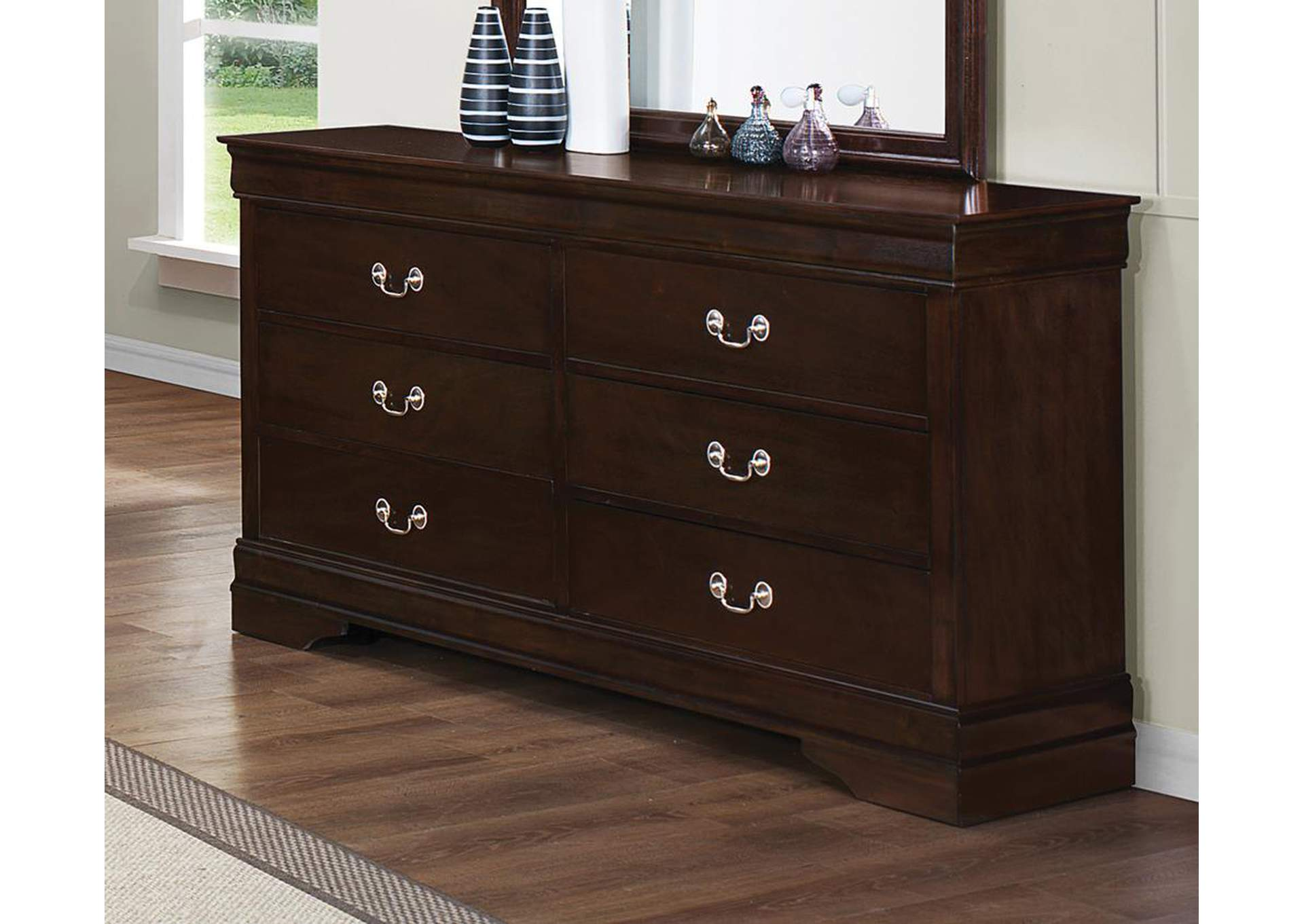 Louis Philippe Cappuccino Dresser,Coaster Furniture
