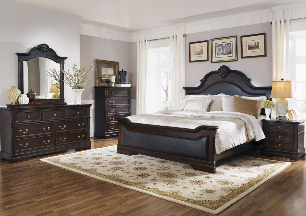 Cambridge King Bed,Coaster Furniture