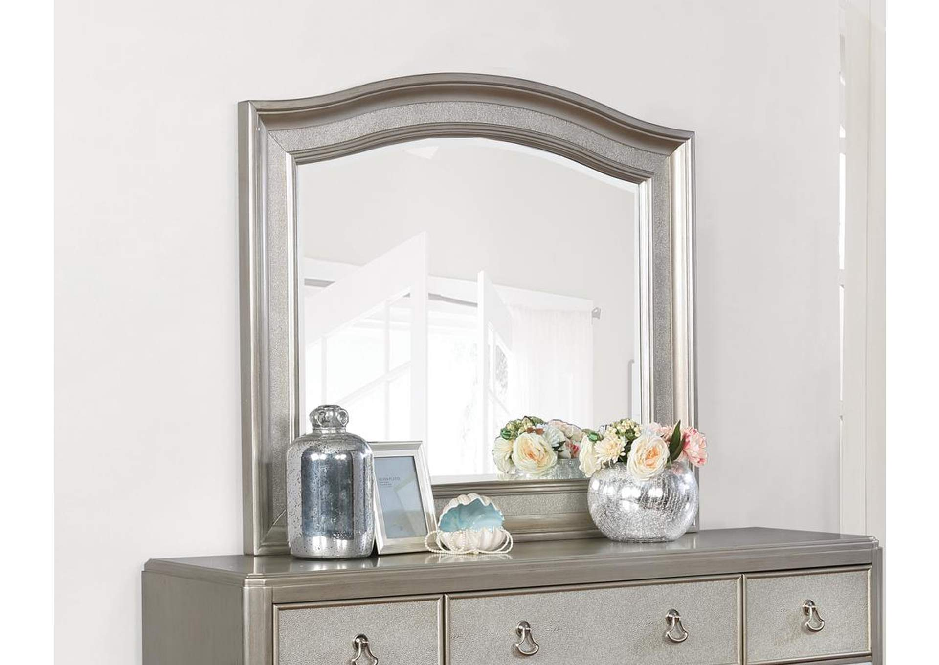 Metallic Platinum Mirror,Coaster Furniture