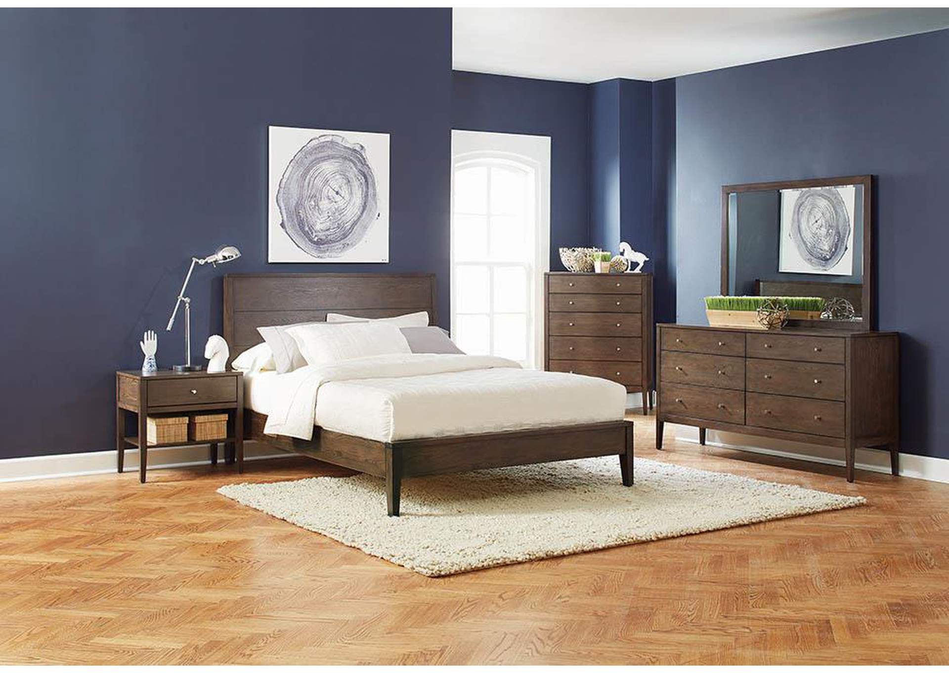 Lompoc Cappiccino Queen Bed,Coaster Furniture