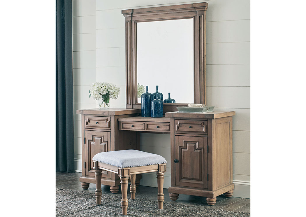 Brown Vanity Desk,Coaster Furniture