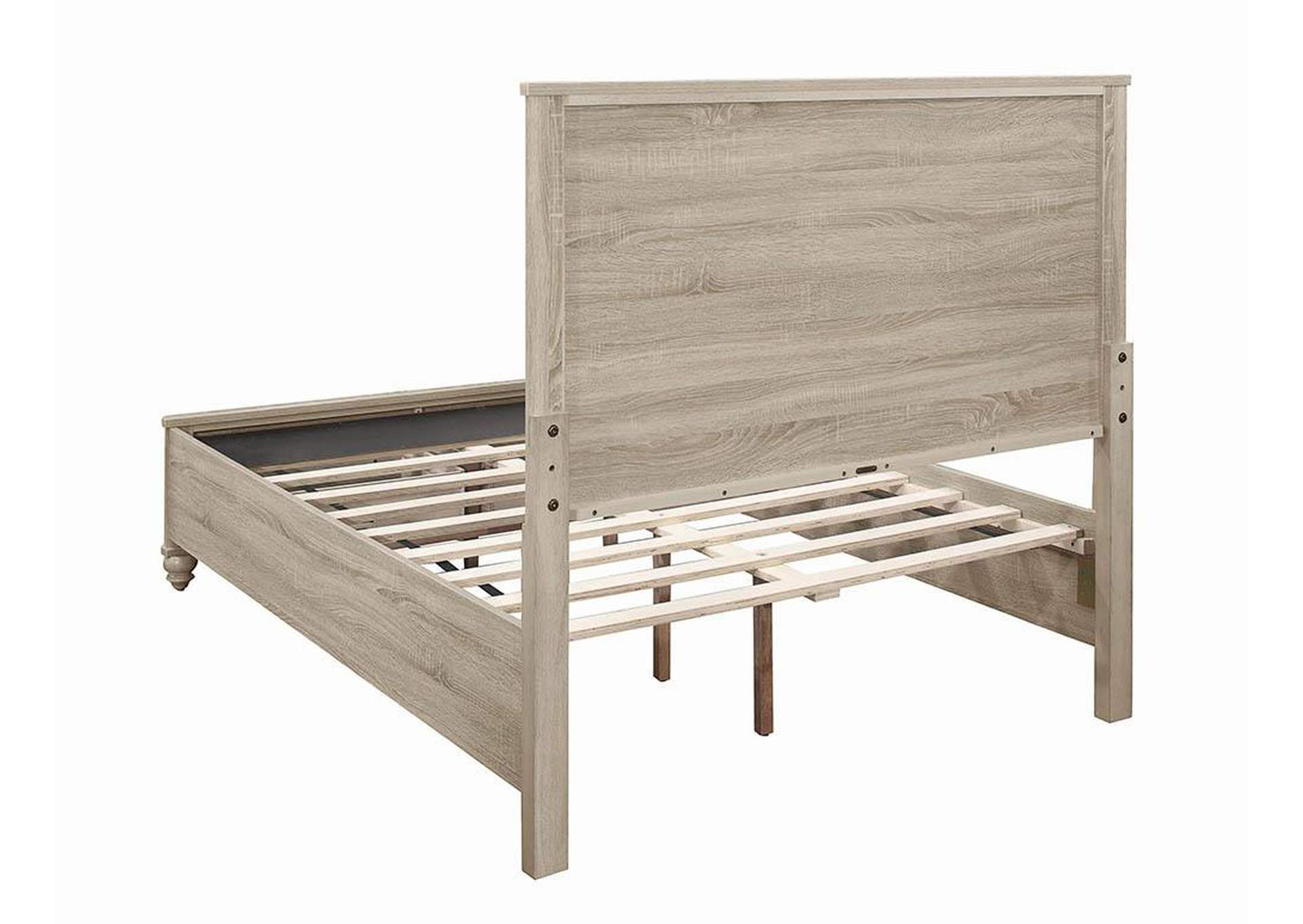 Wenham Natural Oak Full Storage Bed,Coaster Furniture