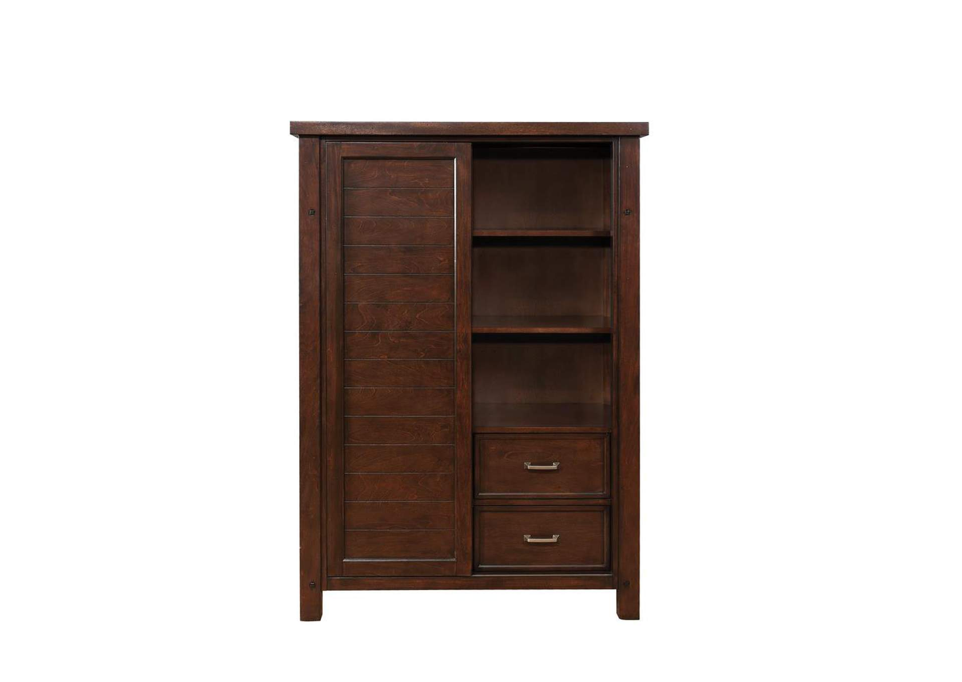 Barstow Pinot Noir Door Chest,Coaster Furniture