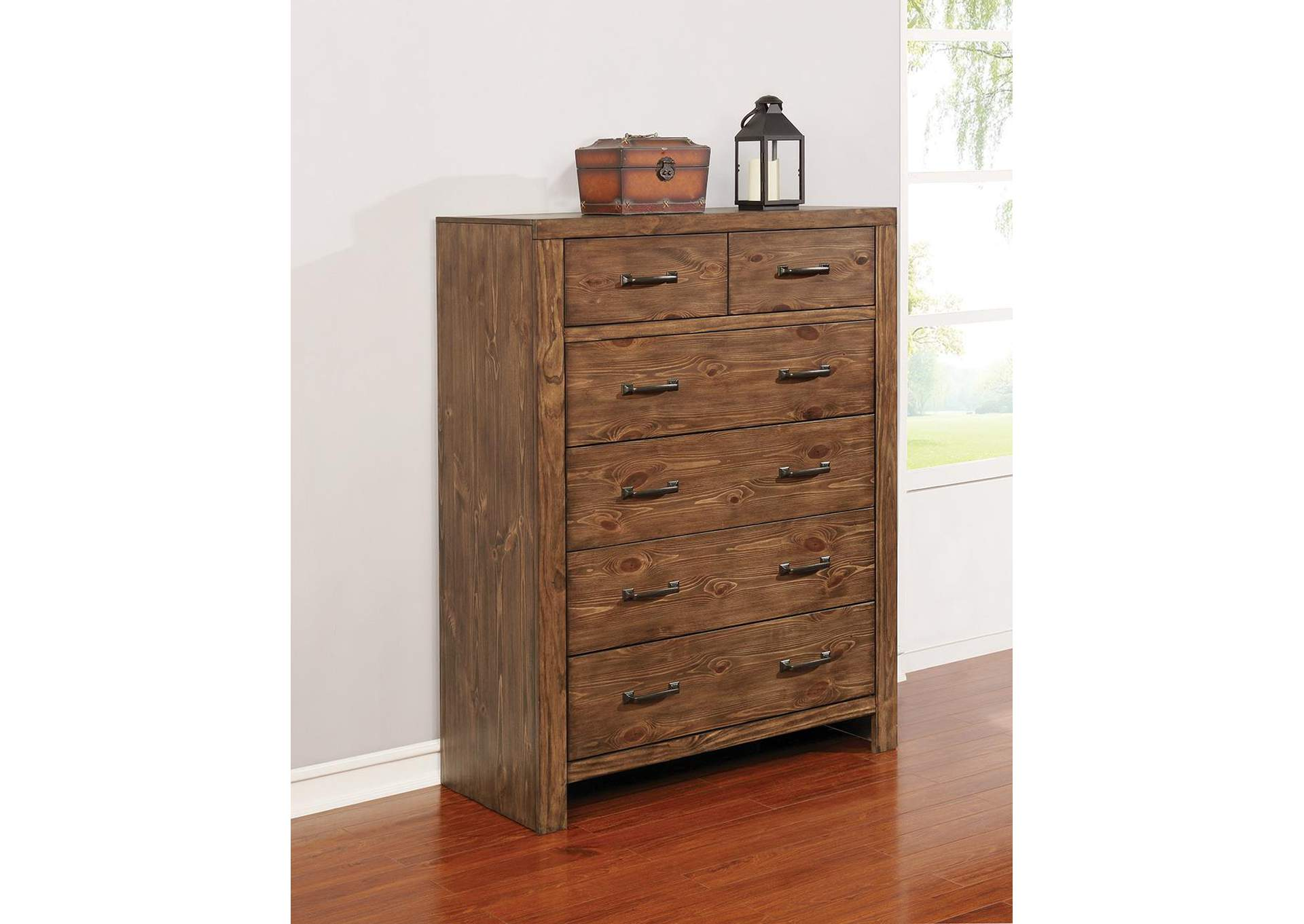Reeves Mojave Brown Chest,Coaster Furniture
