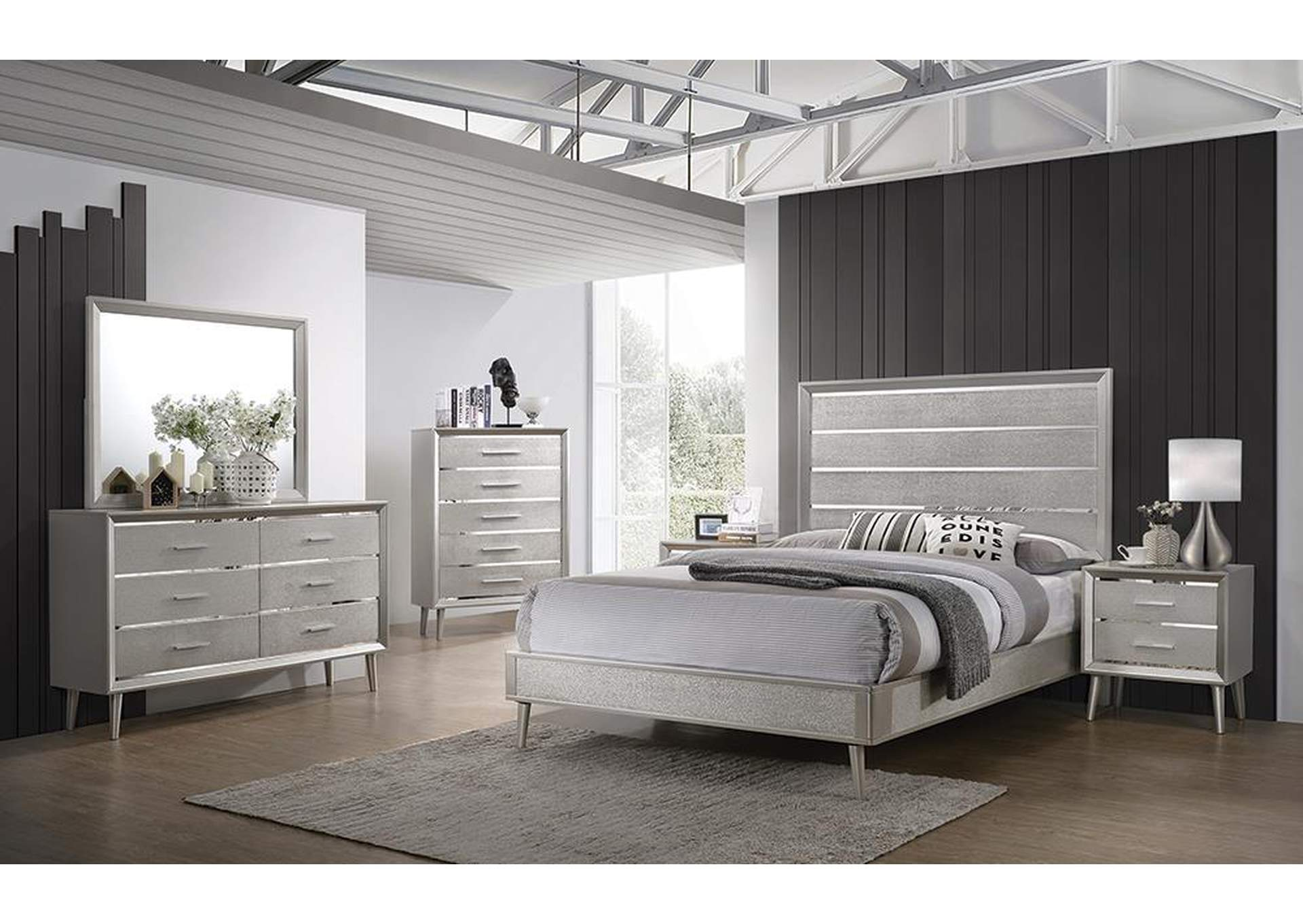 Delta California King Bed,Coaster Furniture