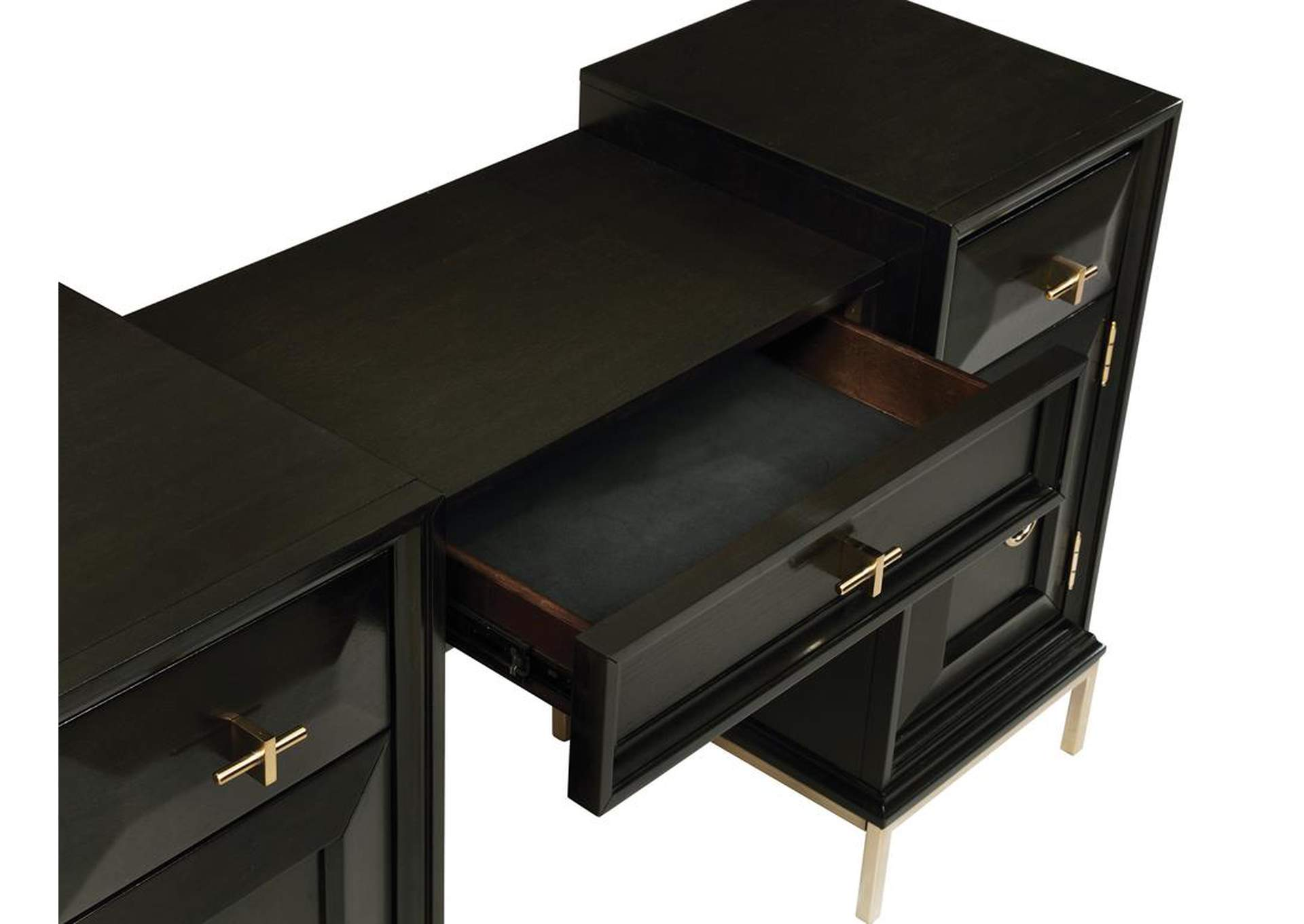 Rangoon Green Vanity Desk,Coaster Furniture