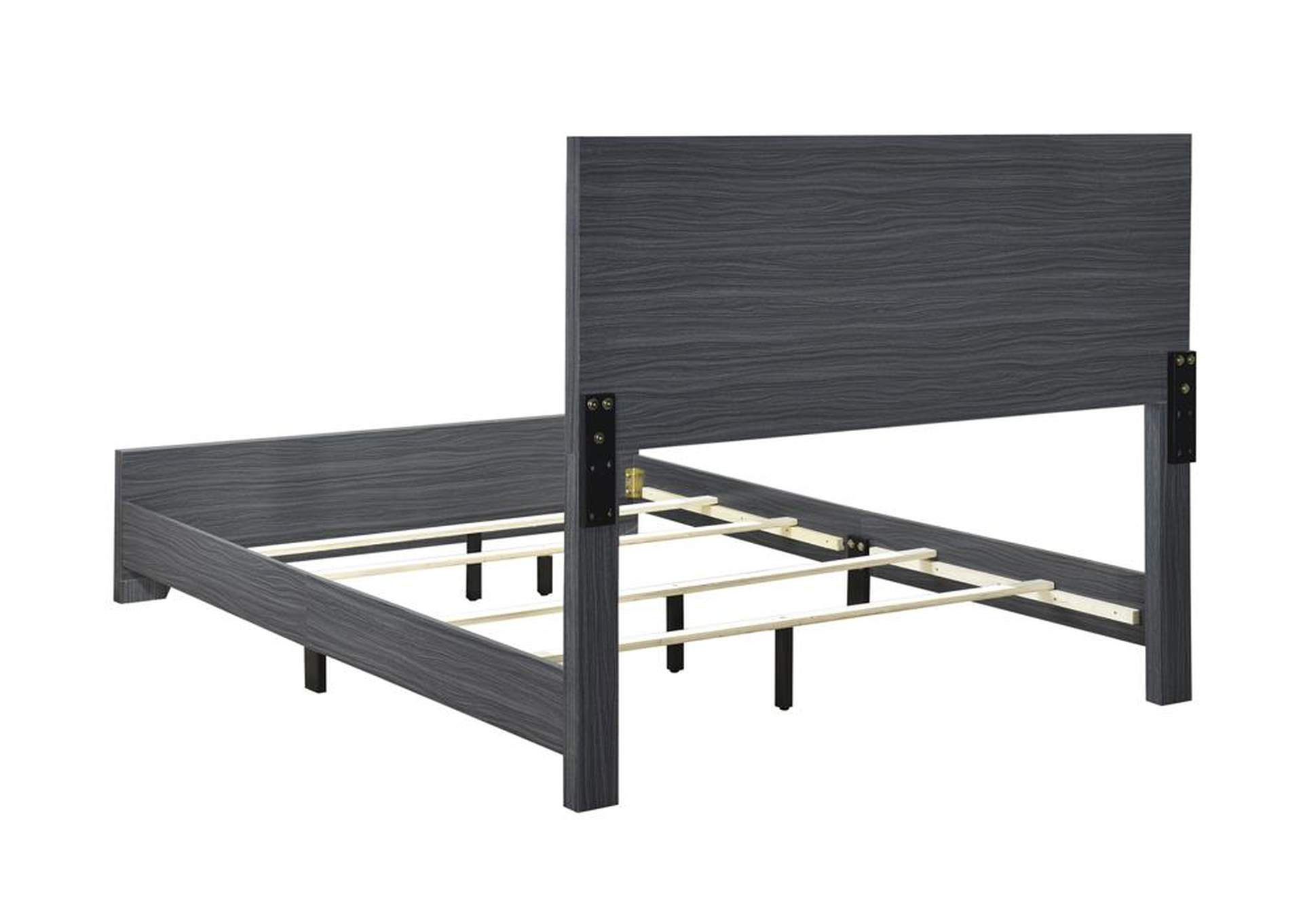 Julian Grey Twin Bed,Coaster Furniture