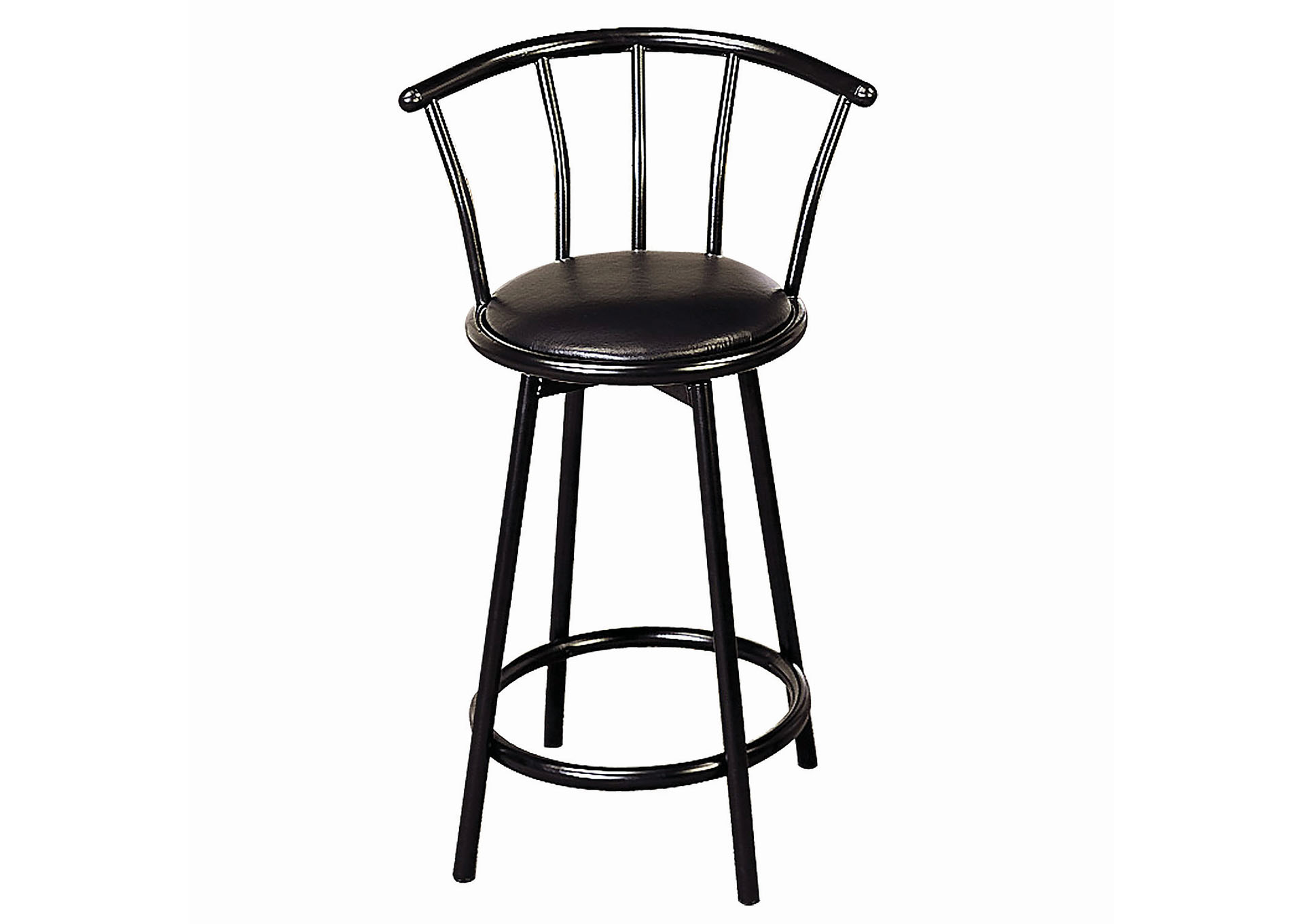 Cool Joe Bs Furniture 24 Metal Swivel Black Bar Stool Set Of 2 Gamerscity Chair Design For Home Gamerscityorg