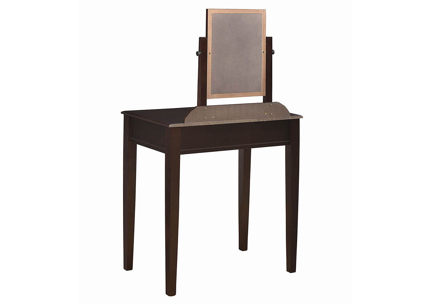 Espresso Vanity and Stool,Coaster Furniture