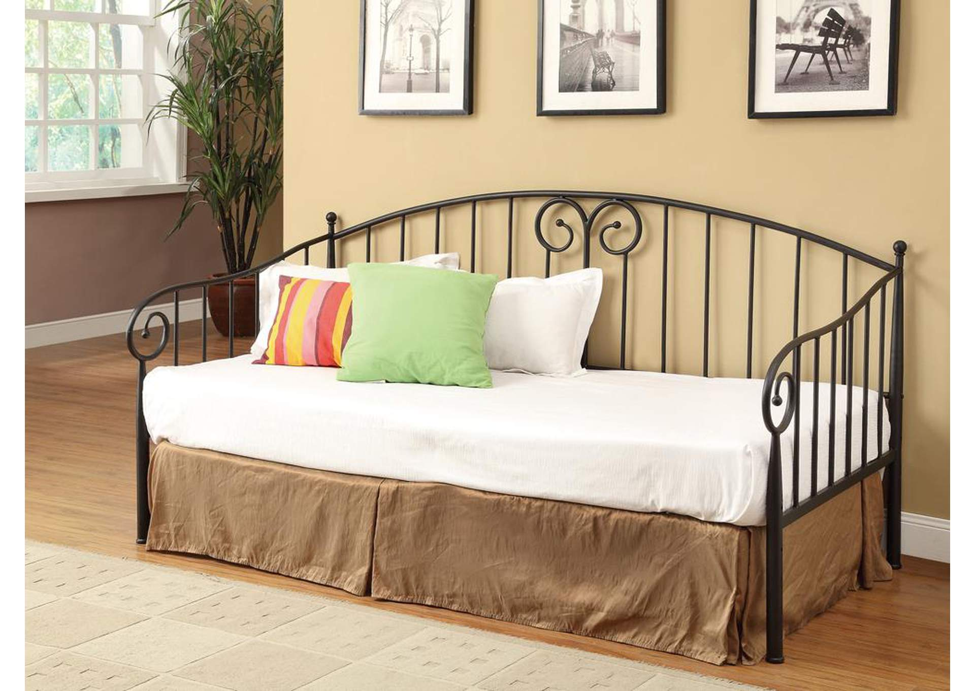 Dark Bronze Daybed,Coaster Furniture