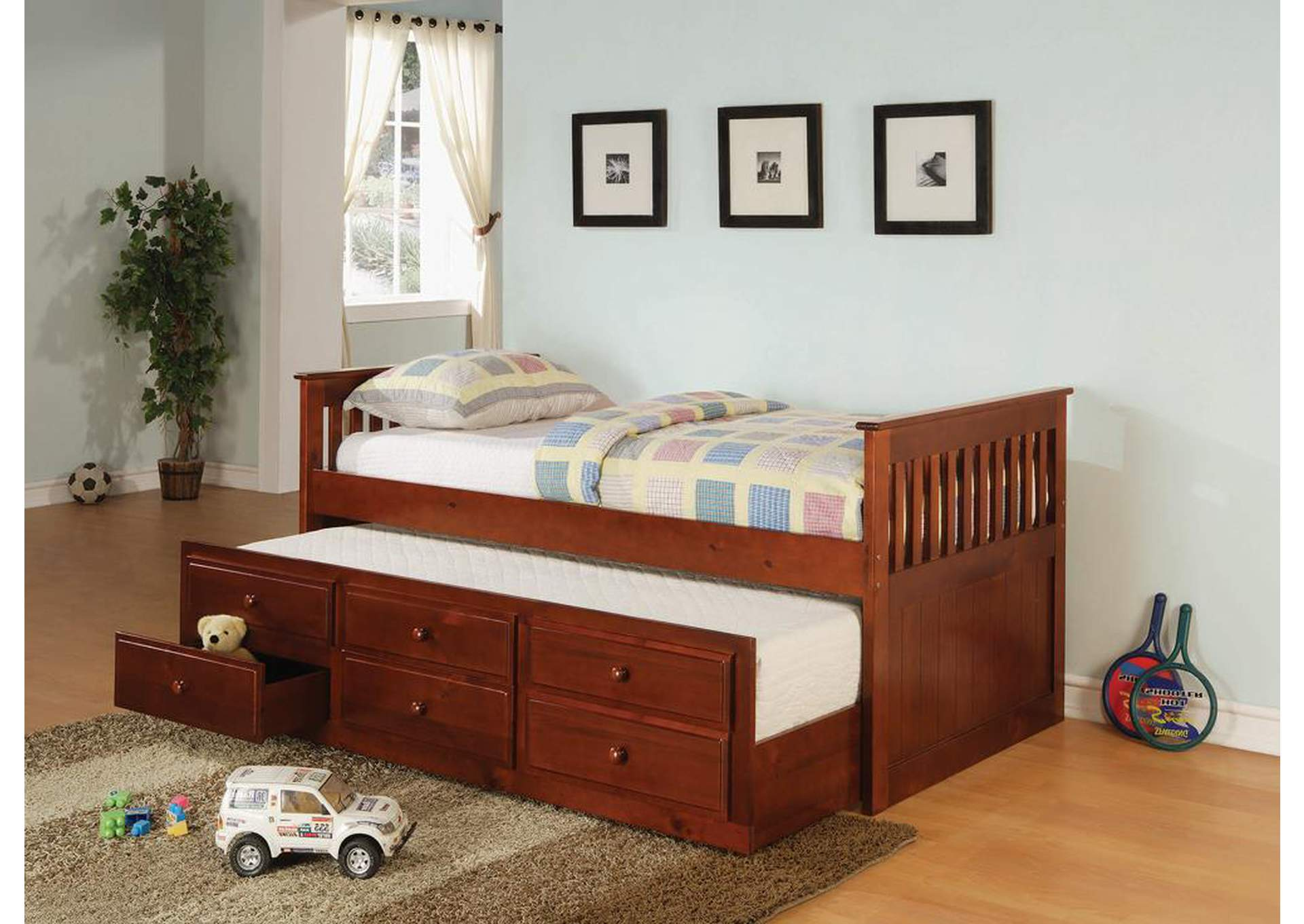 Cherry Twin Daybed,Coaster Furniture