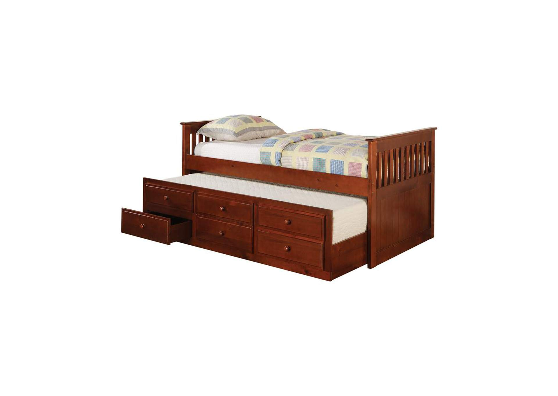 Redwood Transitional Cherry Twin Daybed,Coaster Furniture