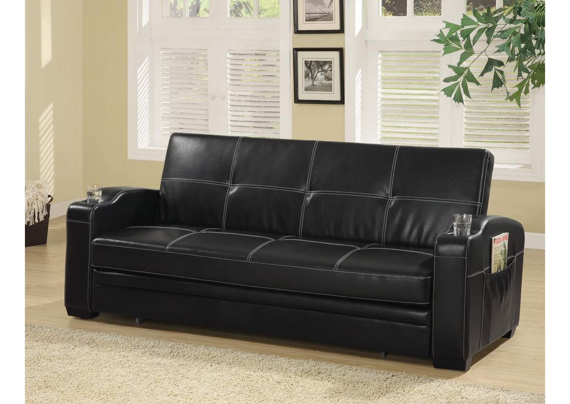 VIP Furniture Outlet - Upper Darby, PA Black Sofa Bed