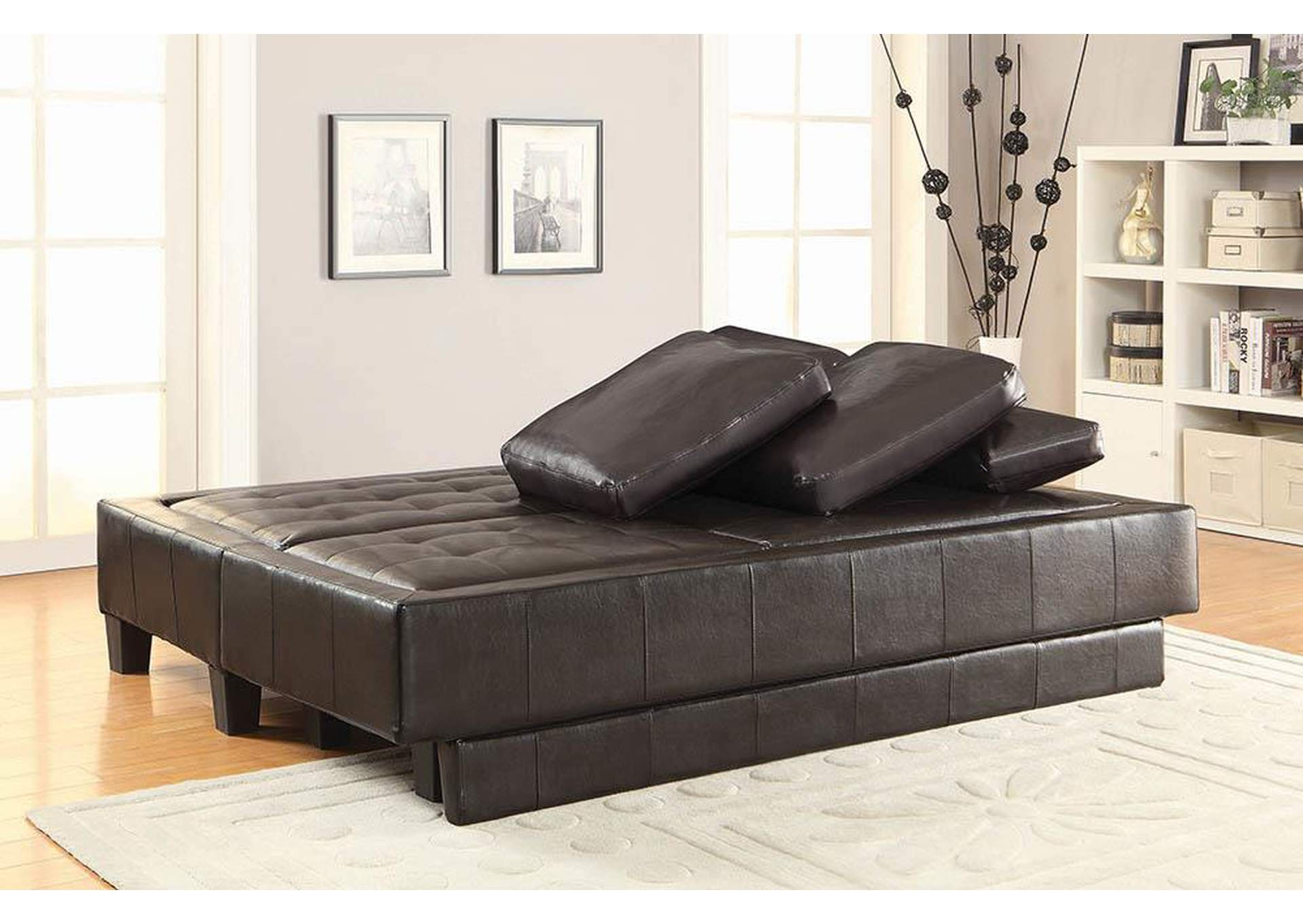 Brown Sofa Bed,Coaster Furniture