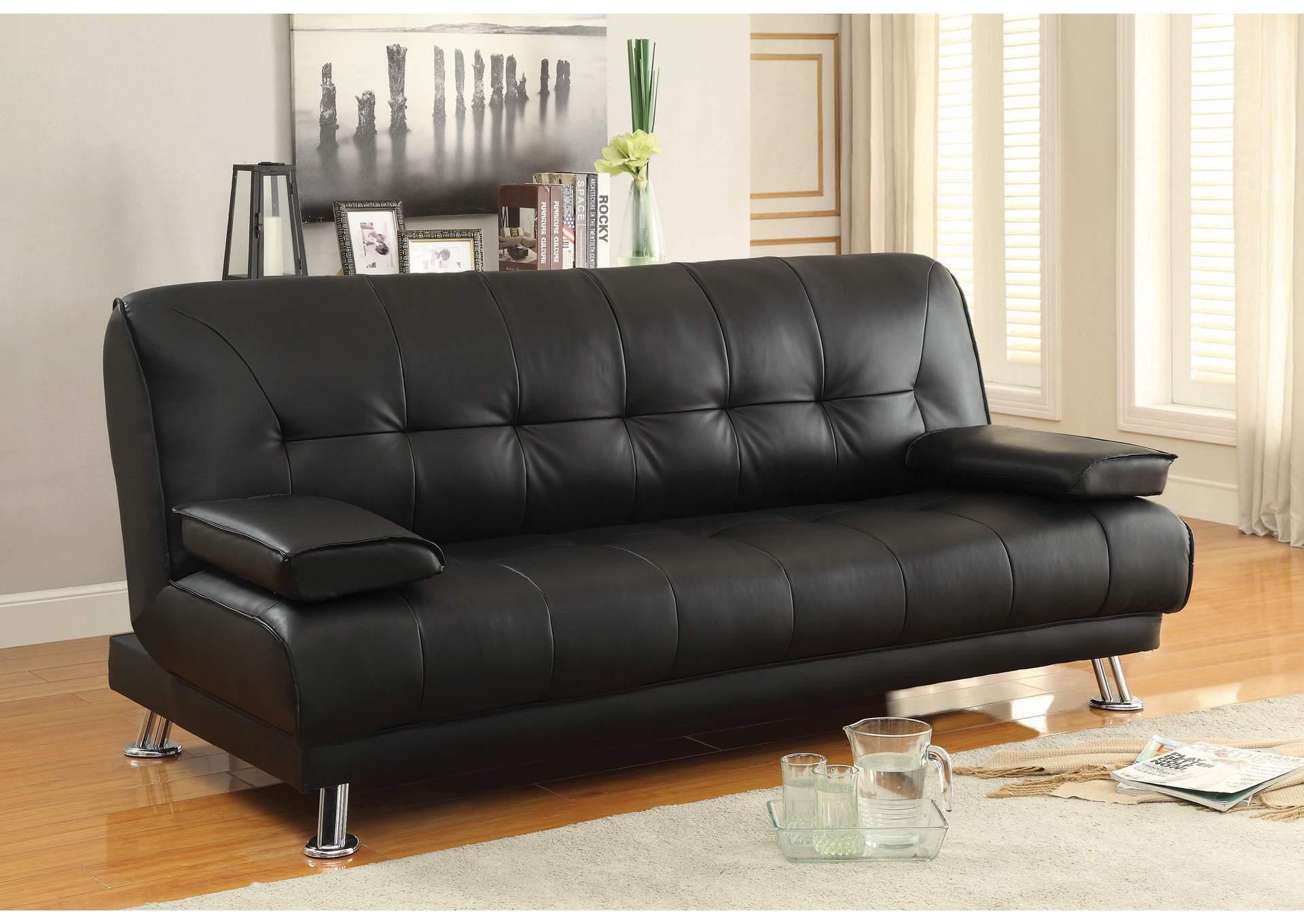 Today\'s Furniture Design - Philadelphia, PA Black Sofa Bed