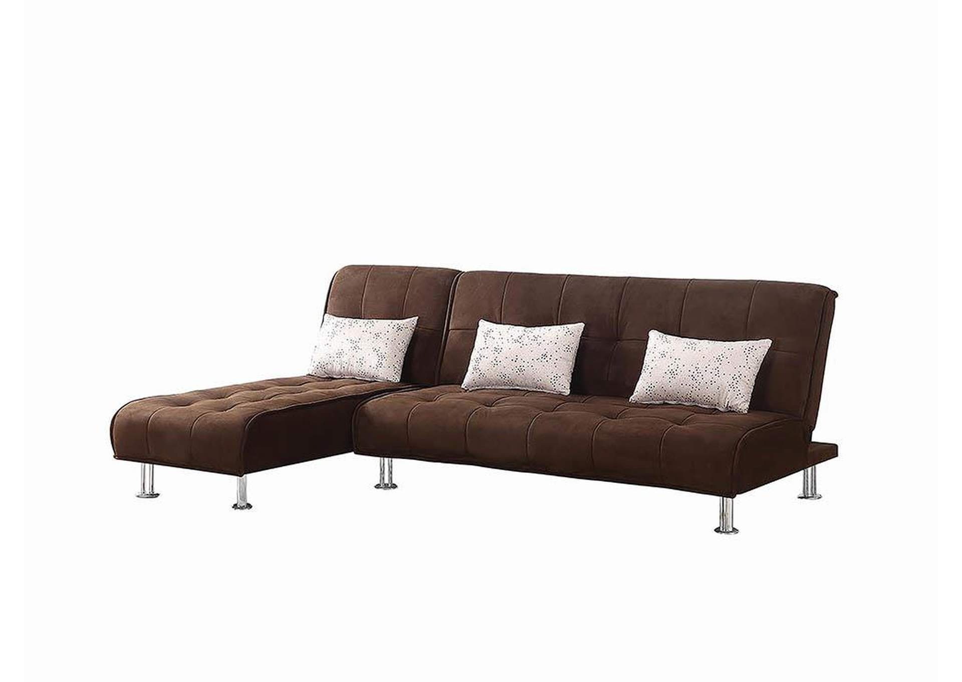 Ellwood Brown Chaise,Coaster Furniture