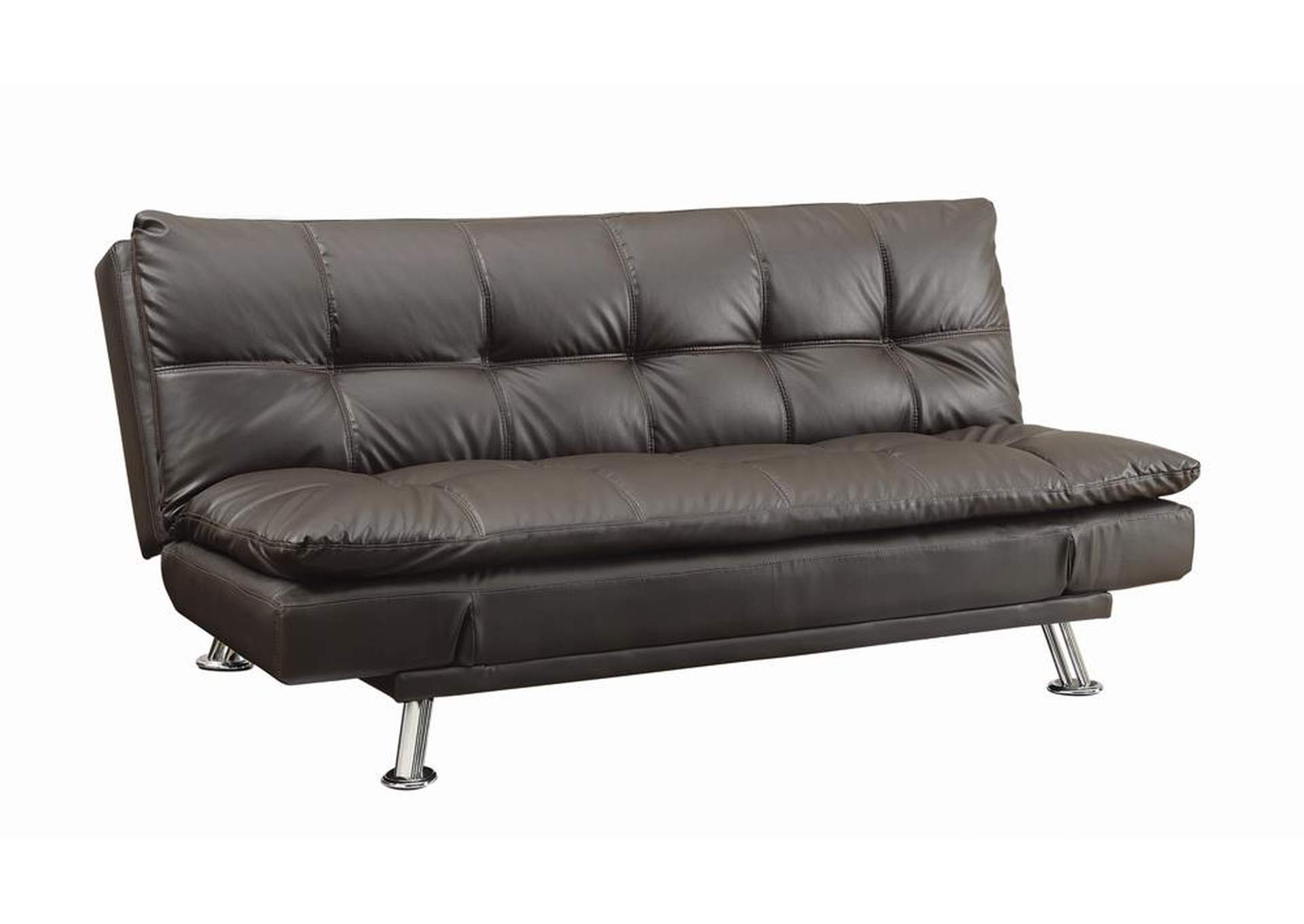Brown Dilleston Contemporary Brown Sofa Bed,Coaster Furniture