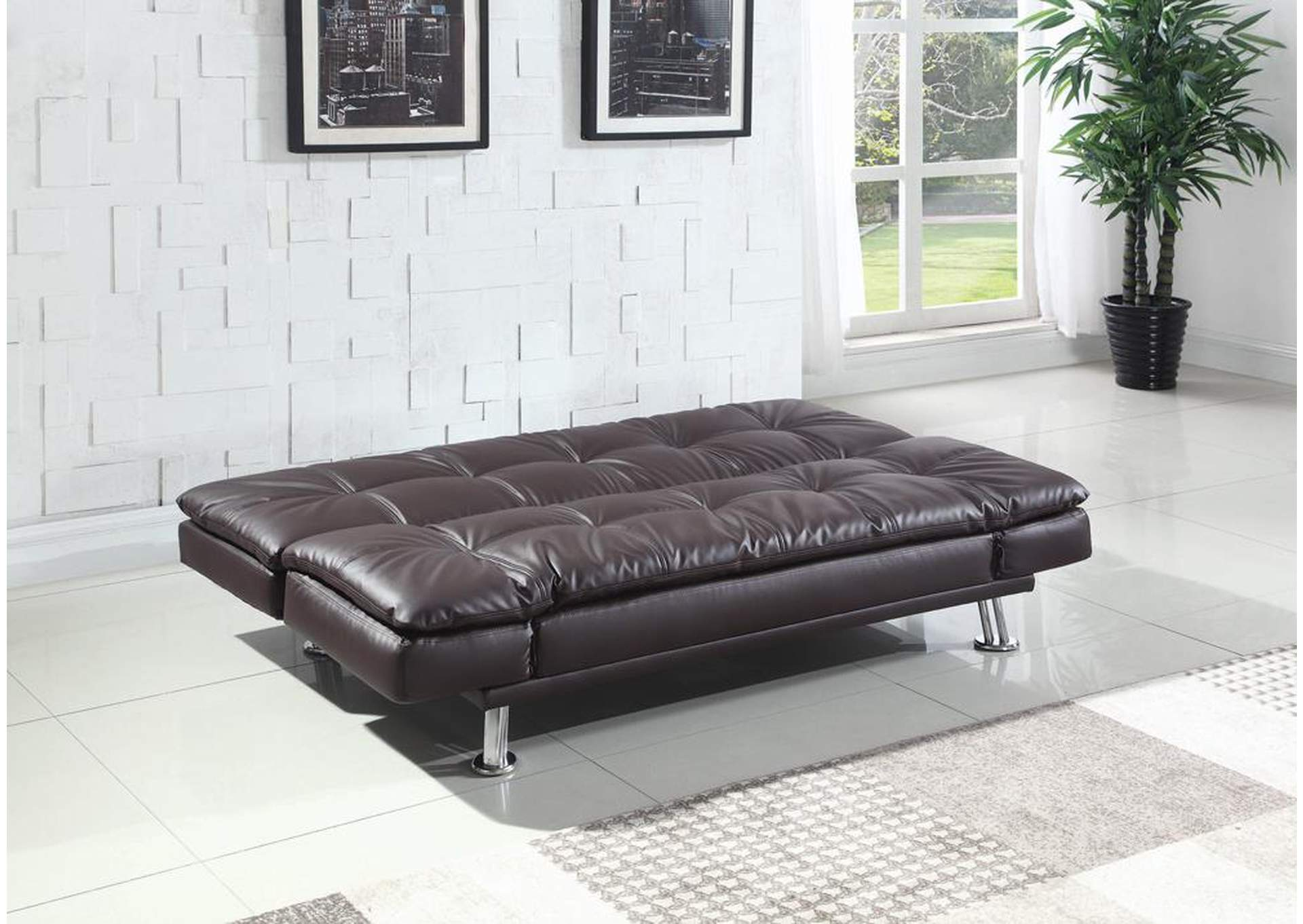 Dilleston Brown Sofa Bed,Coaster Furniture