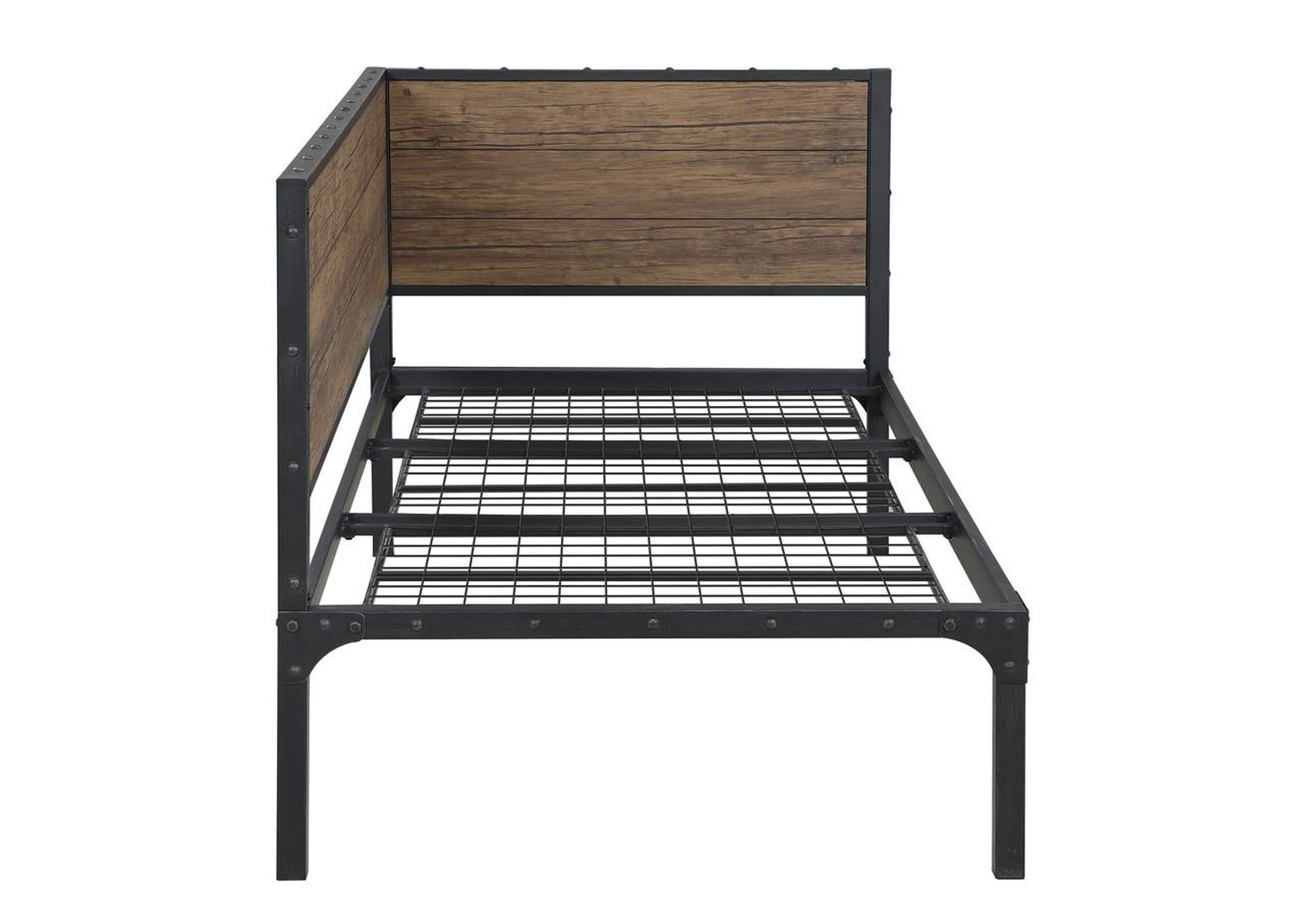 Weathered Chestnut Twin Daybed,Coaster Furniture