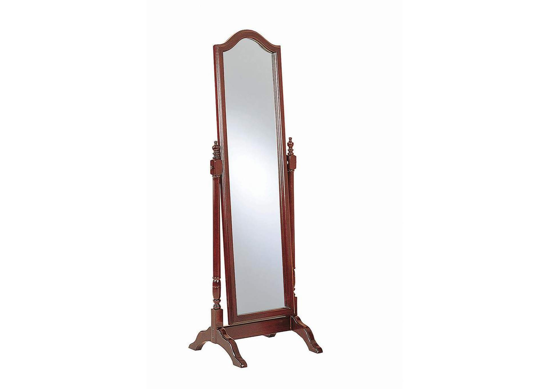 Red Brown Floor Mirror,Coaster Furniture