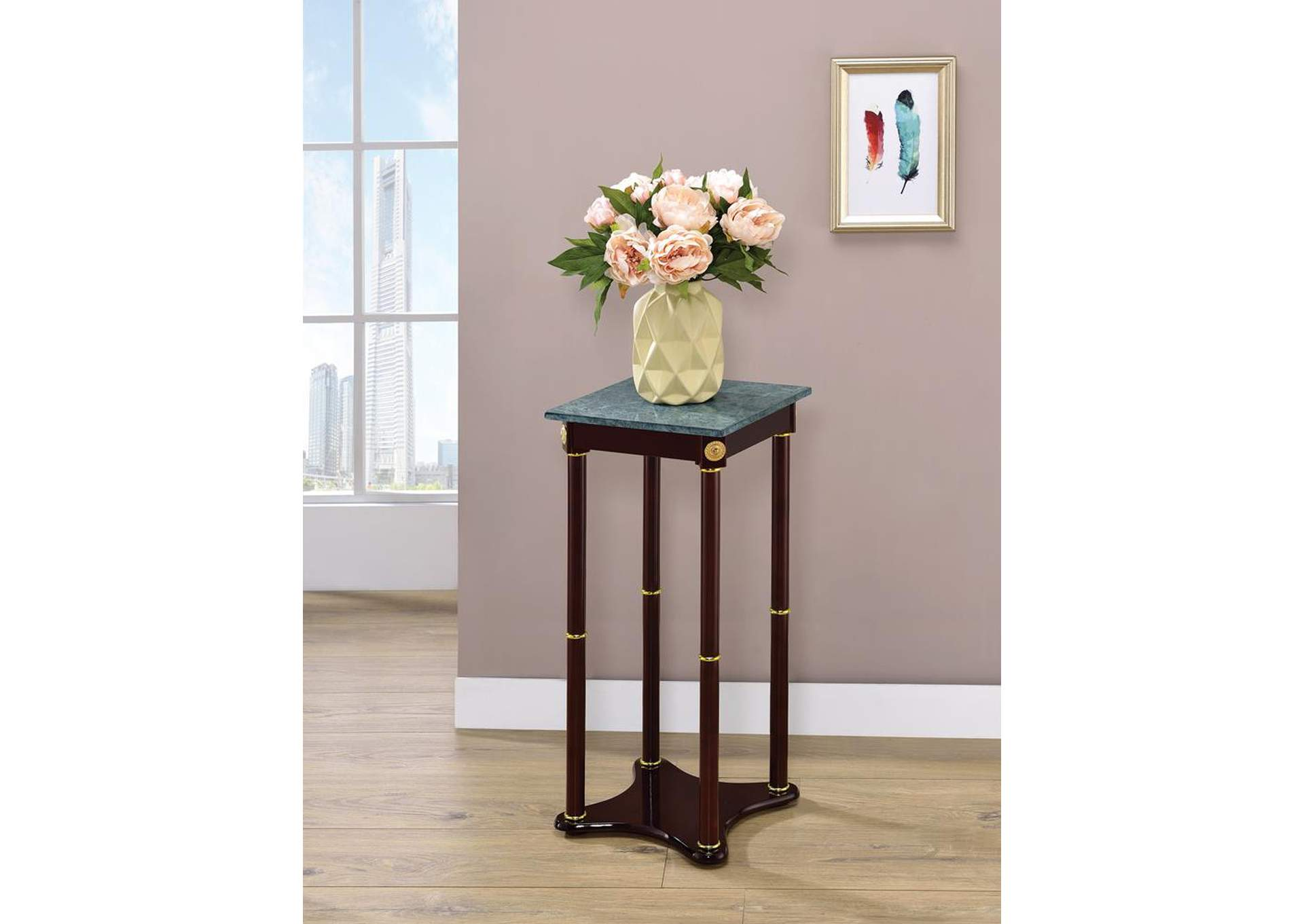 Merlot Square Plant Stand,Coaster Furniture