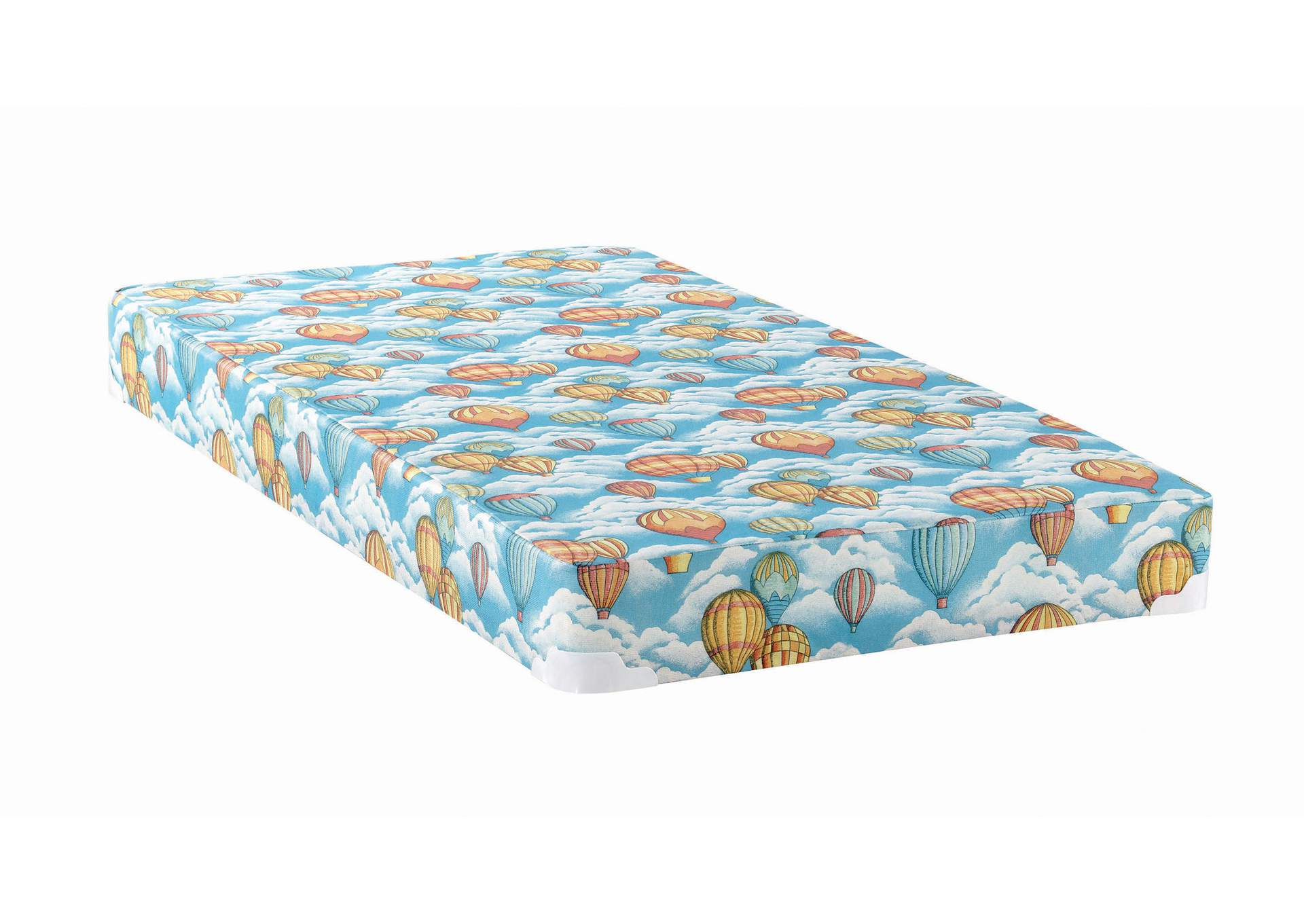 Balloon Blue Patterned Full Mattress,Coaster Furniture