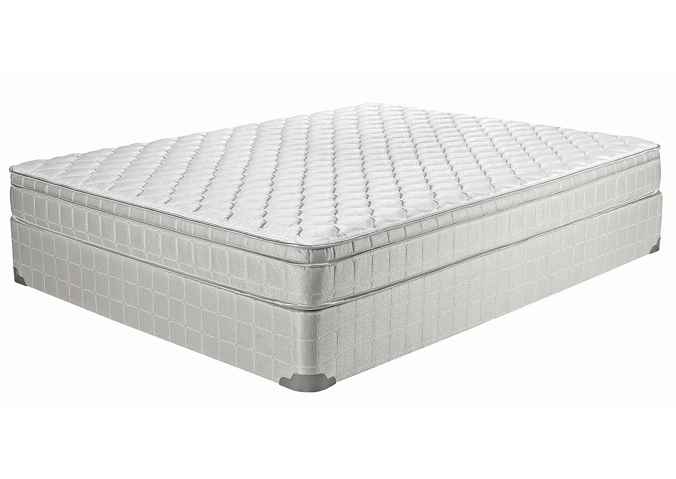 Twin XL Laguna Euro Top Mattress,Coaster Furniture