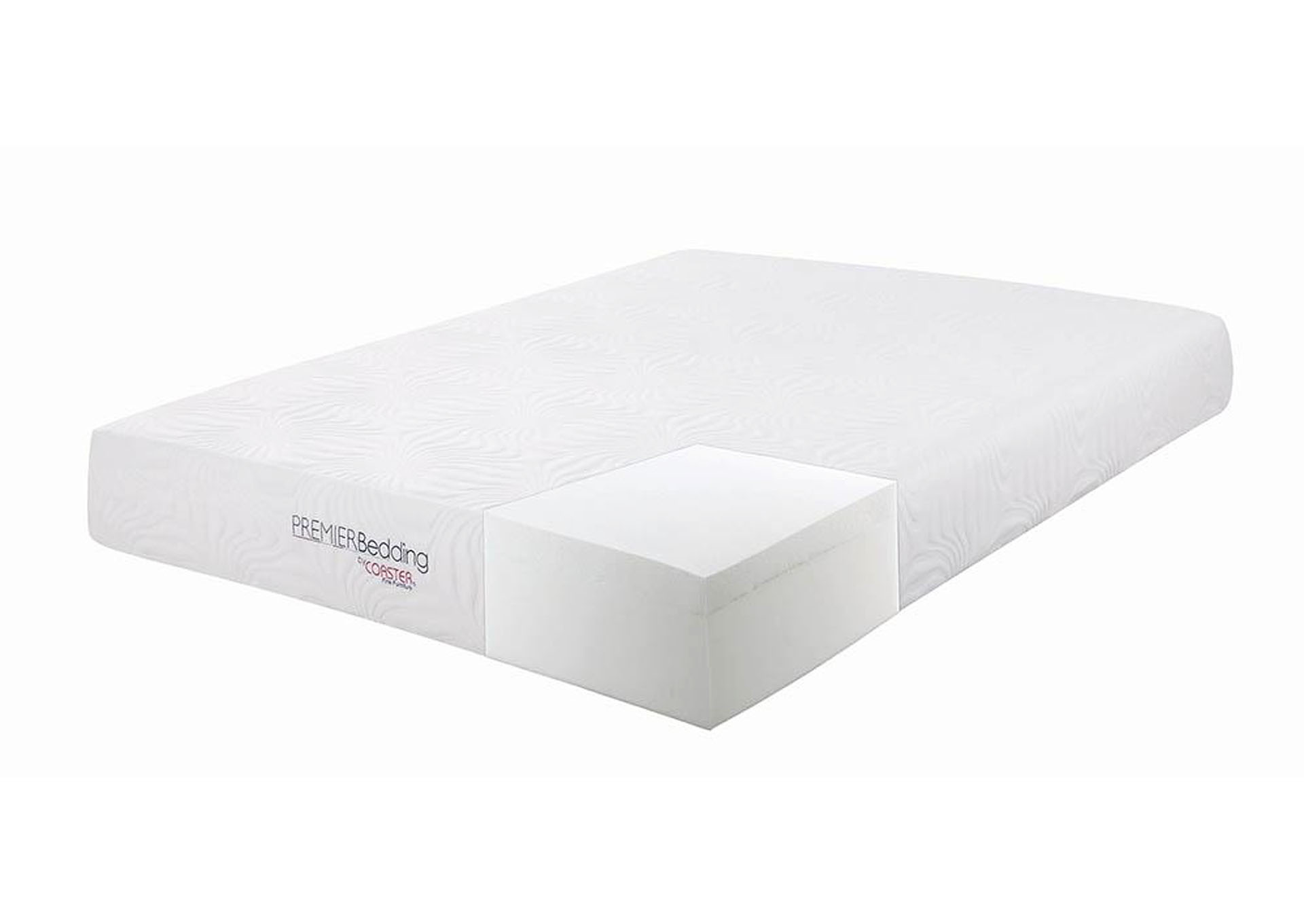 Key 10 Inch Full Memory Foam Mattress,Coaster Furniture