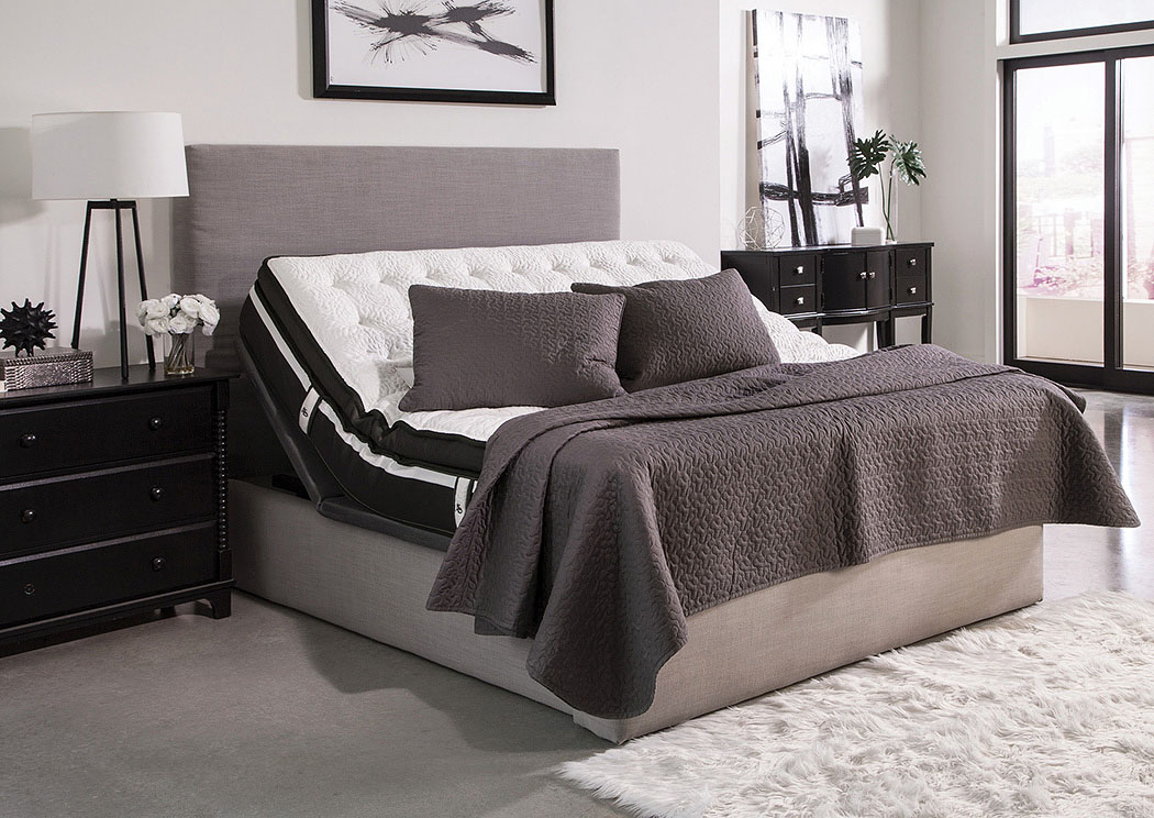Montclair Black Queen Adjustable Bed,Coaster Furniture