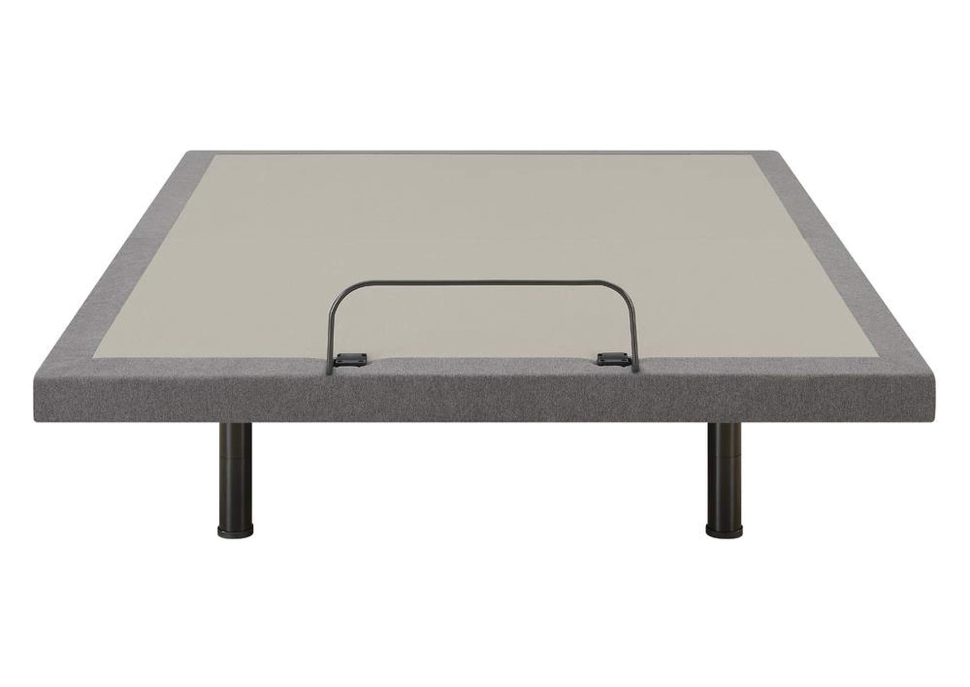 Clara Grey/Black Twin XL Adjustable Bed Base,Coaster Furniture