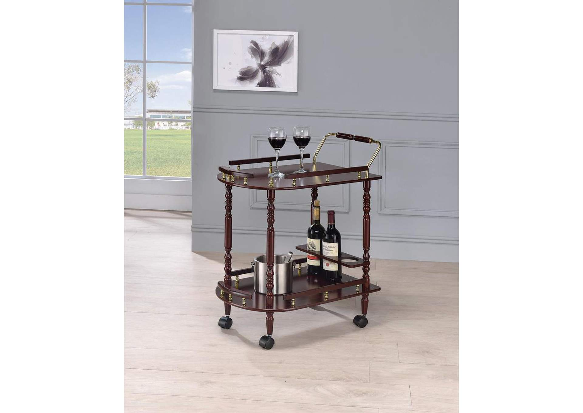 Serving Cart,Coaster Furniture