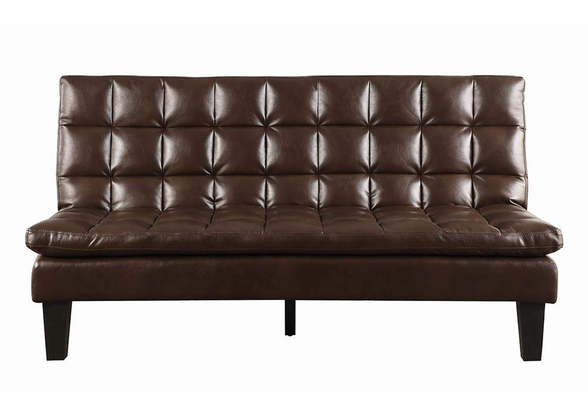 Goree\'s Furniture - Opelika, AL Brown Faux Leather Sofa Bed