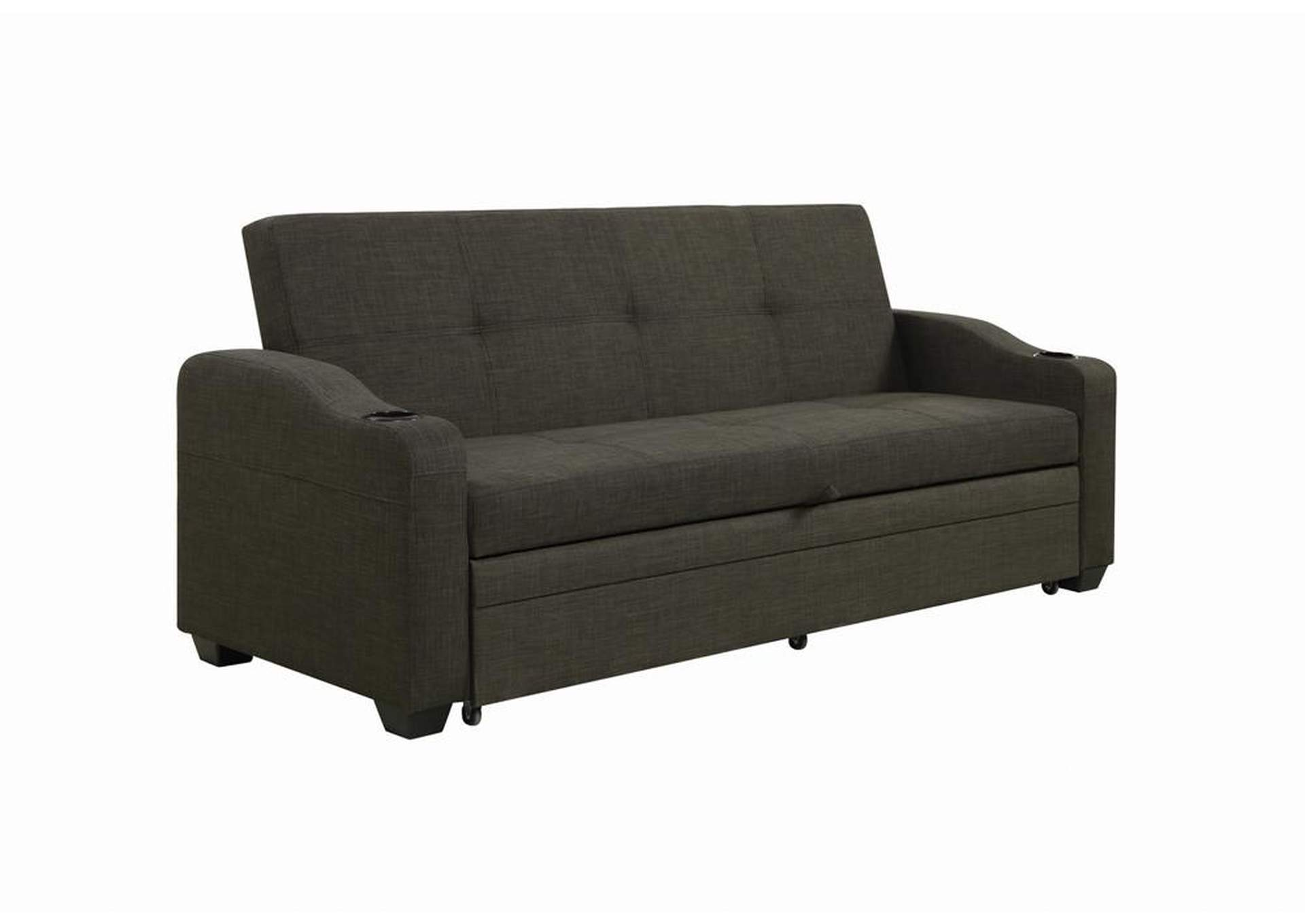 Excellent Ideal Furniture San Antonio West Charcoal Black Sofa Bed Ibusinesslaw Wood Chair Design Ideas Ibusinesslaworg