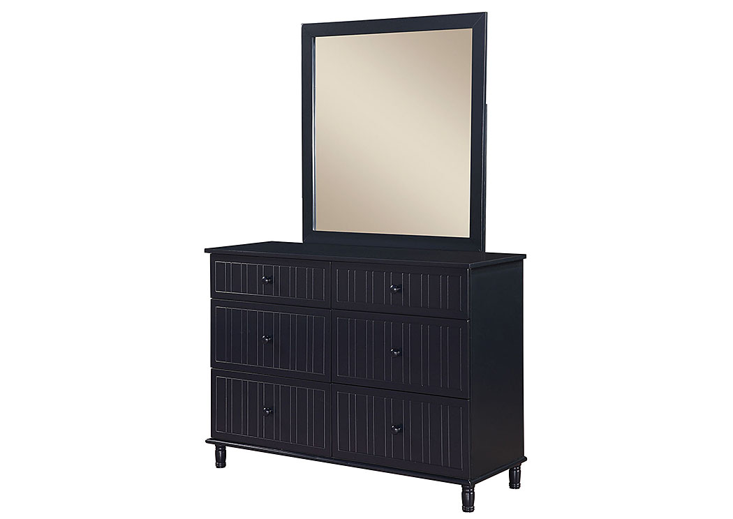 Navy Blue Mirror,ABF Coaster Furniture