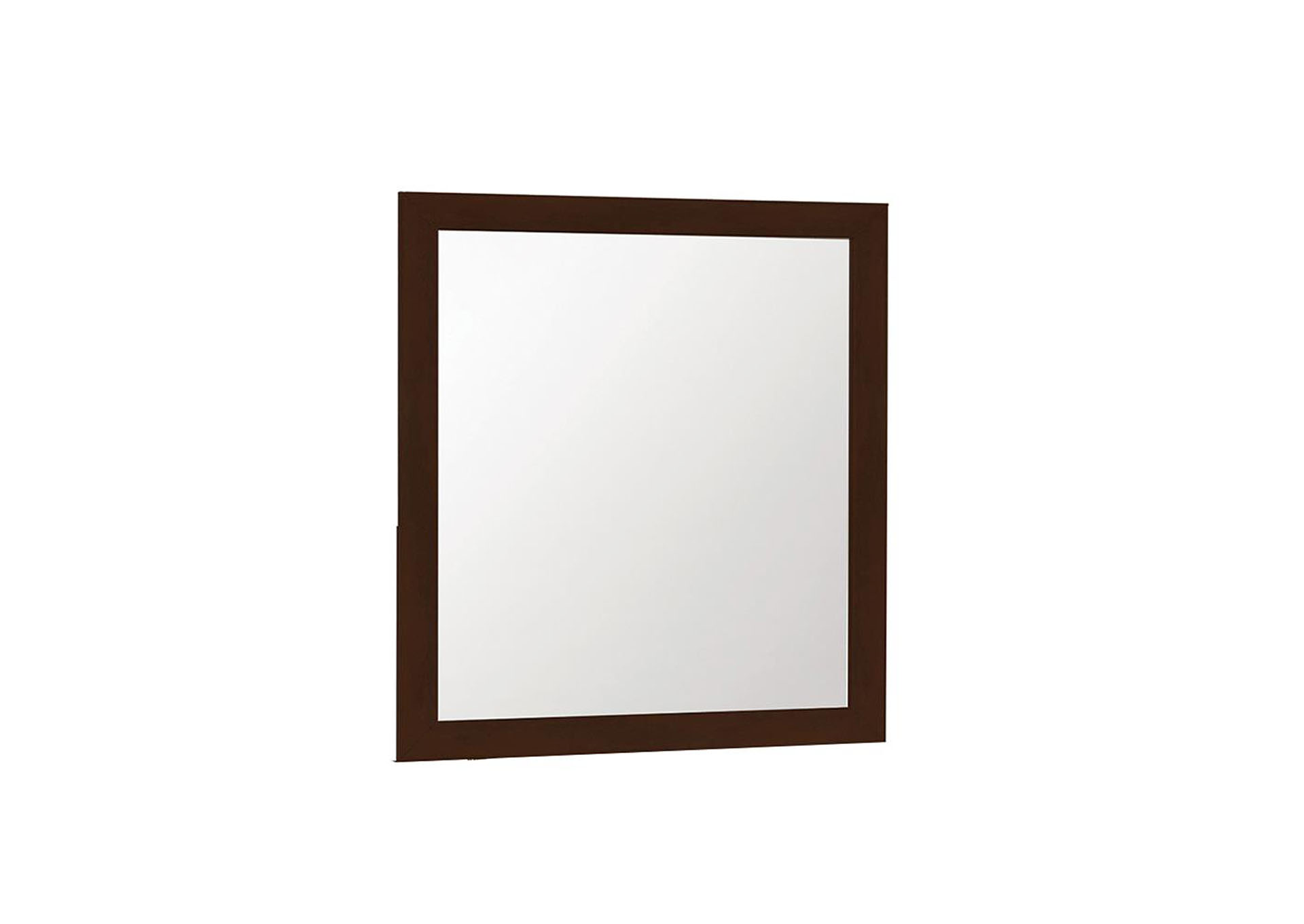 Ashton Cappuccino Mirror,Coaster Furniture