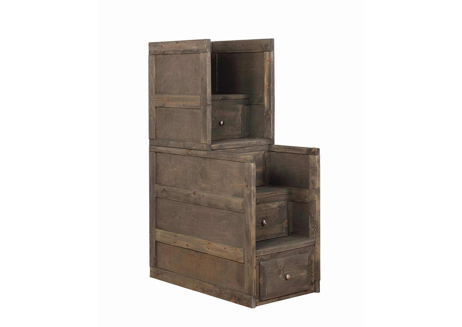 Wrangle Hill Gunsmoke Stairway Chest,Coaster Furniture