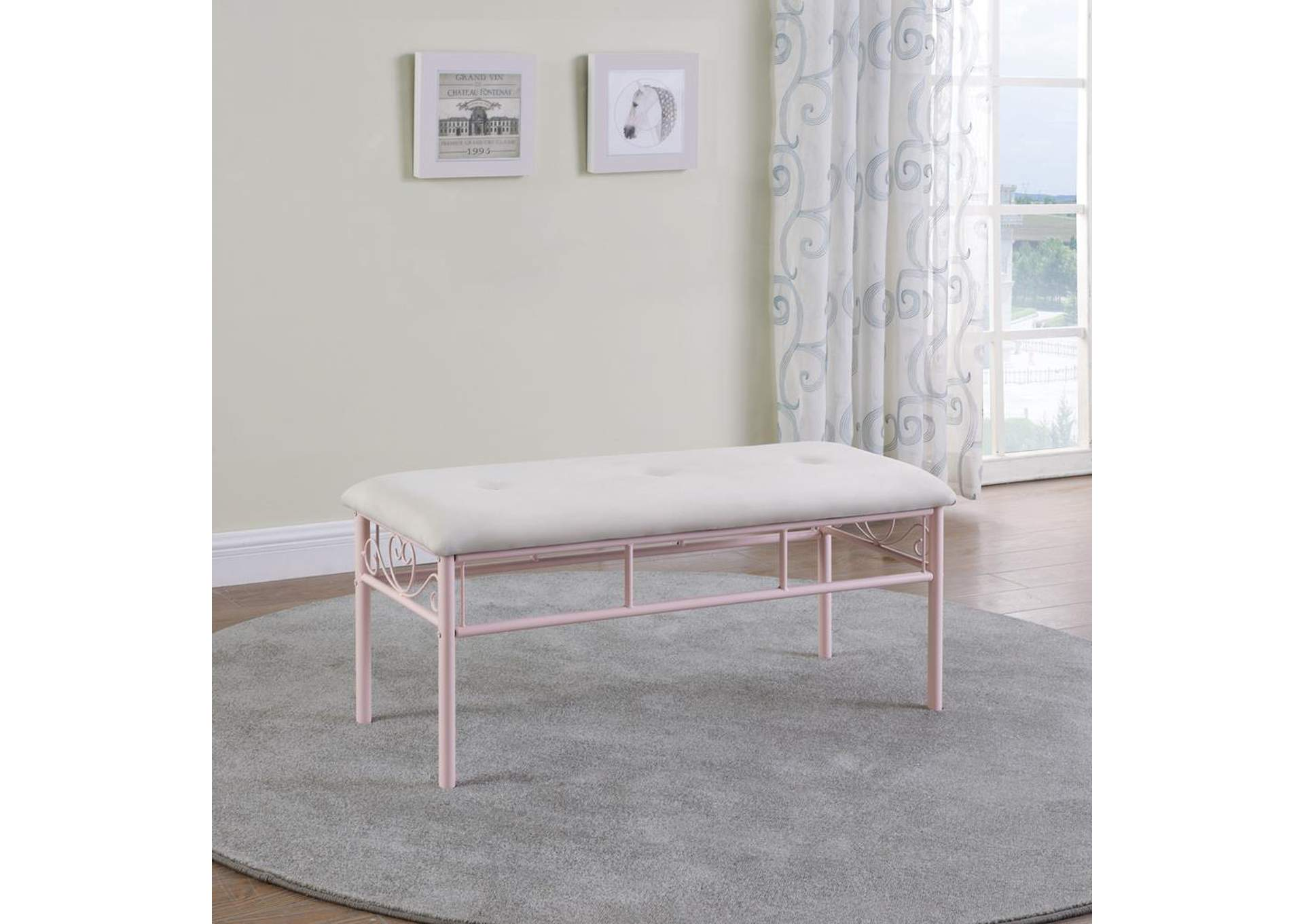 Ebb Dining Bench,Coaster Furniture