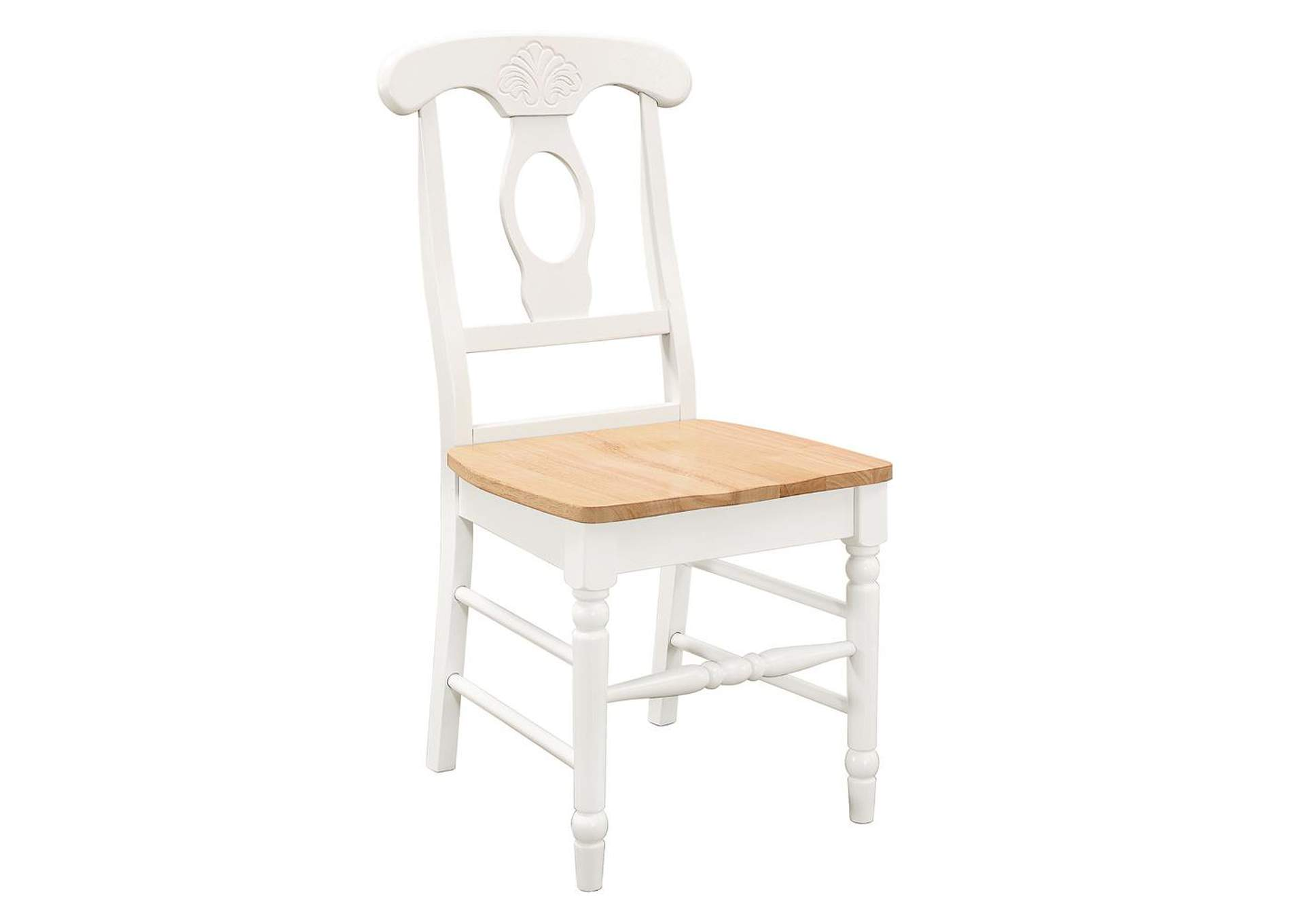 Cararra Damen Country Side Dining Chair [Set of 2],Coaster Furniture