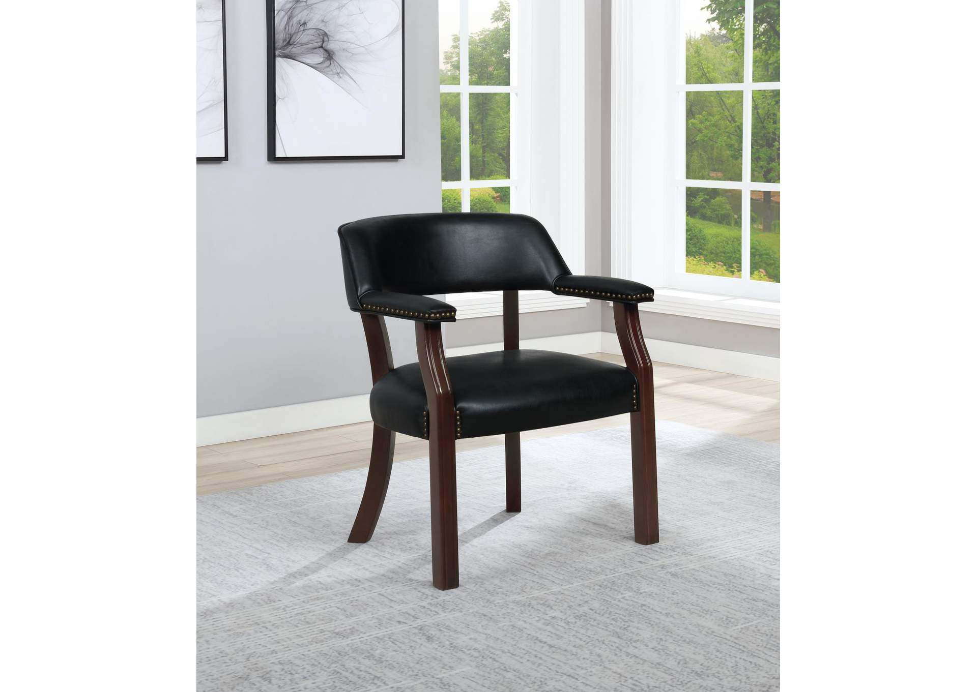 Black Chair,Coaster Furniture