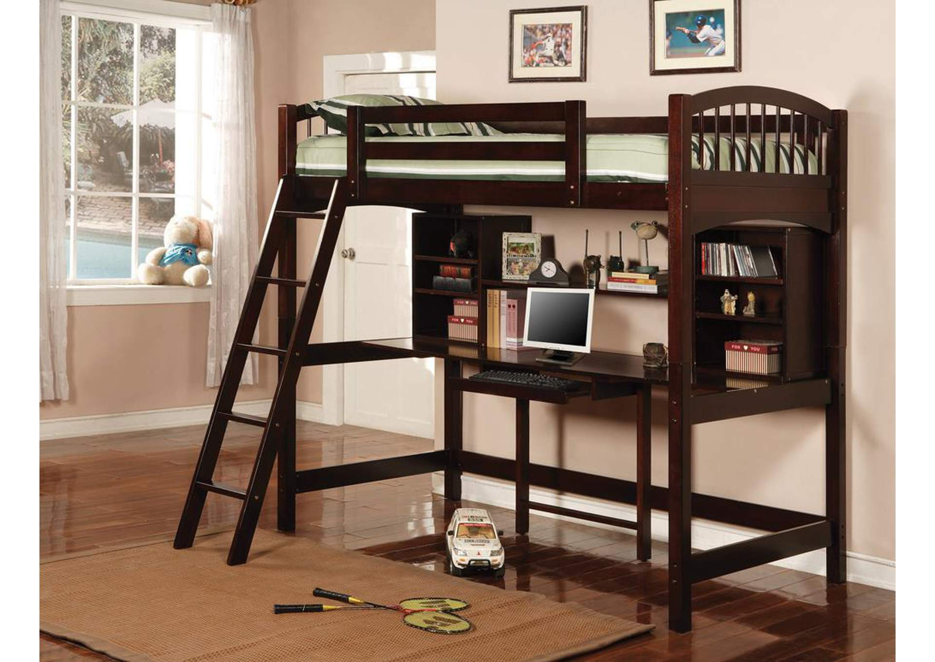 Twin Workstation Bunk,Coaster Furniture