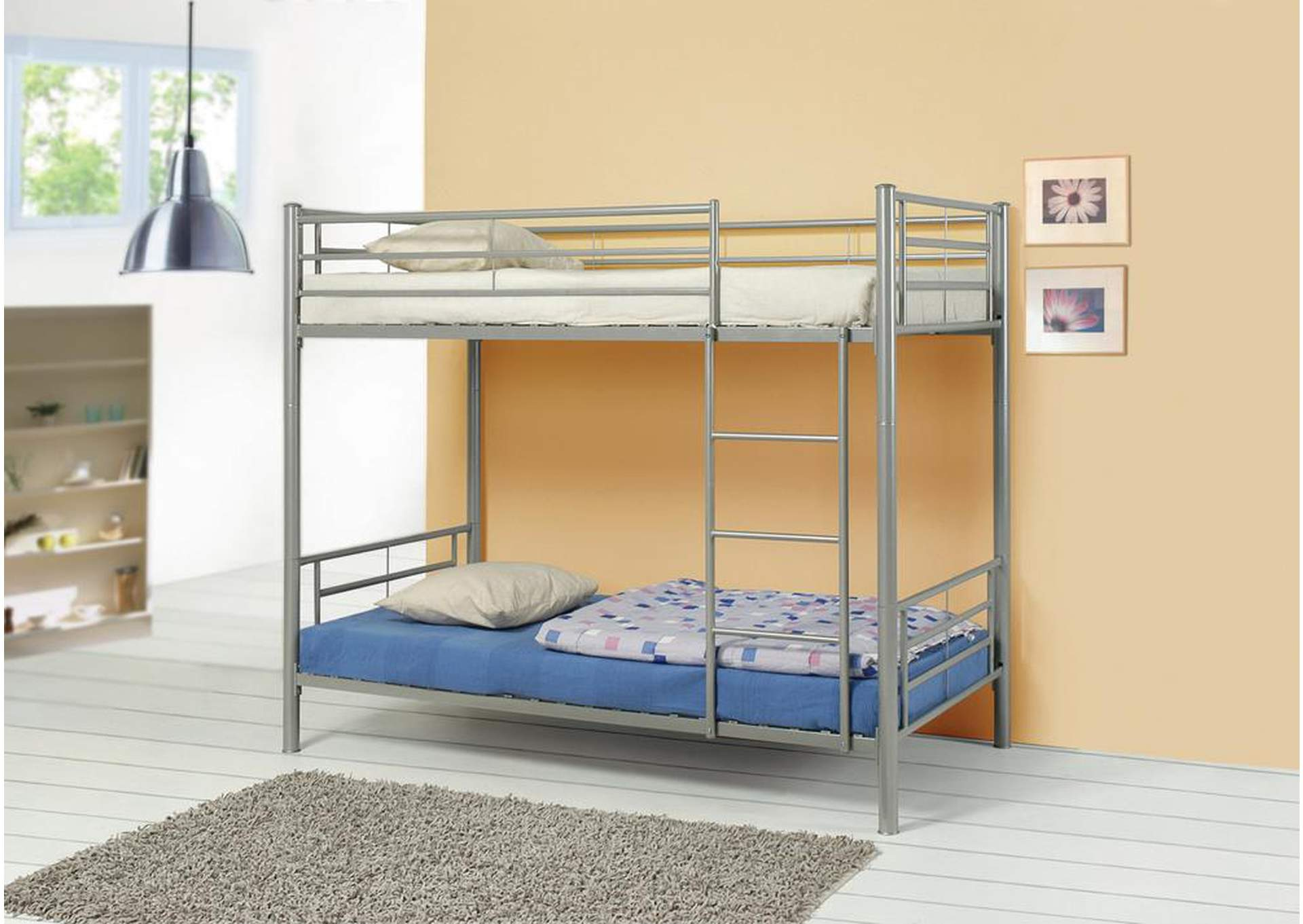 Twin/Twin Bunkbed,Coaster Furniture
