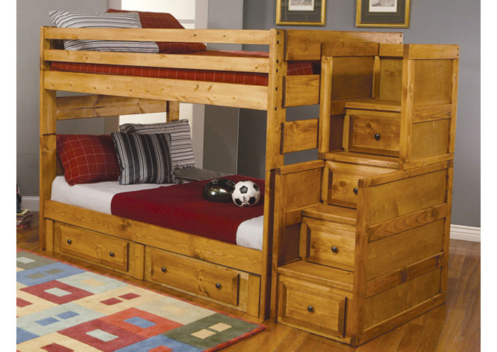 Full/Full Bunk Bed,Coaster Furniture